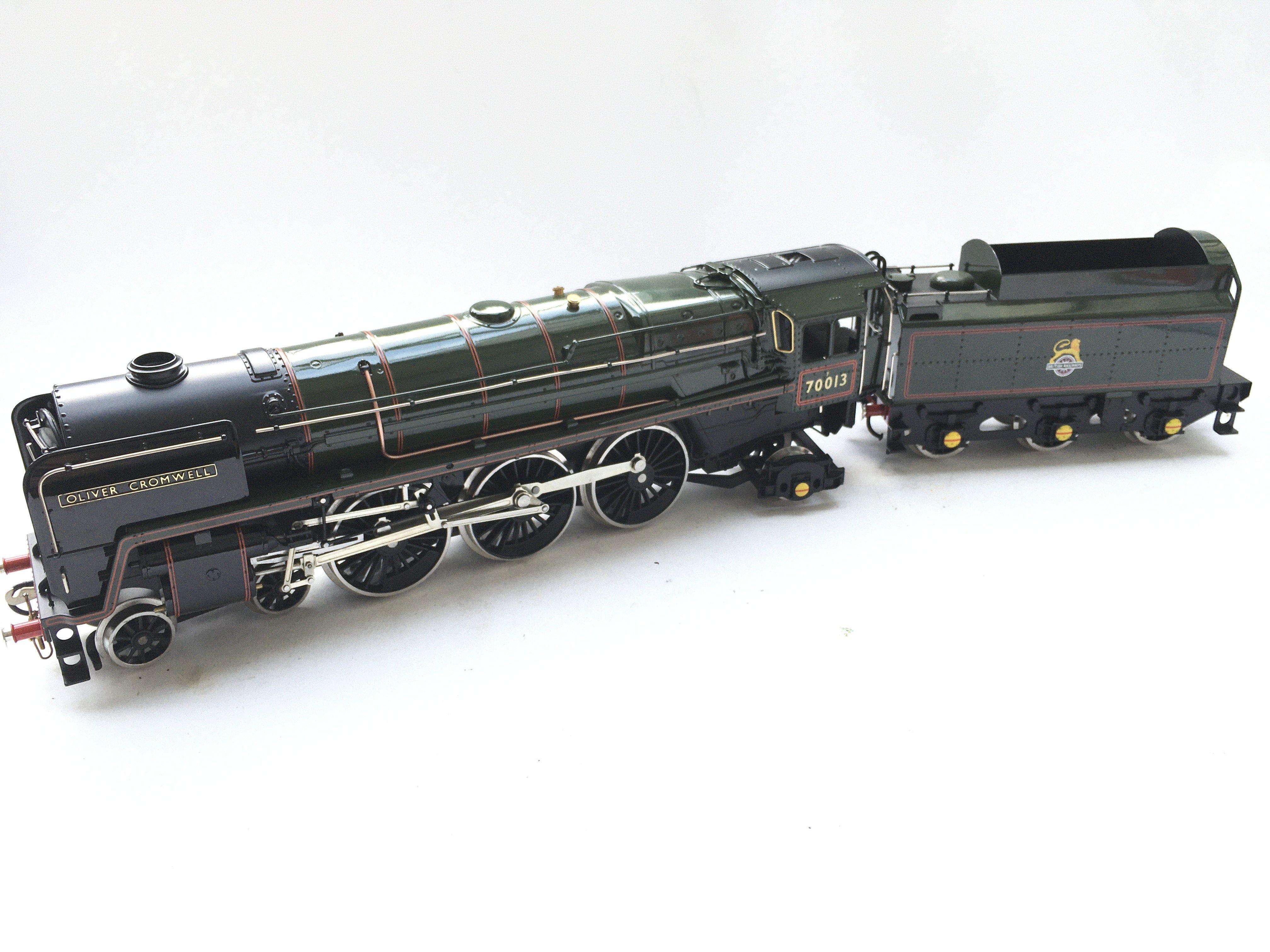 A Ace Trains 0 Gauge Britannia Class Locomotive. B