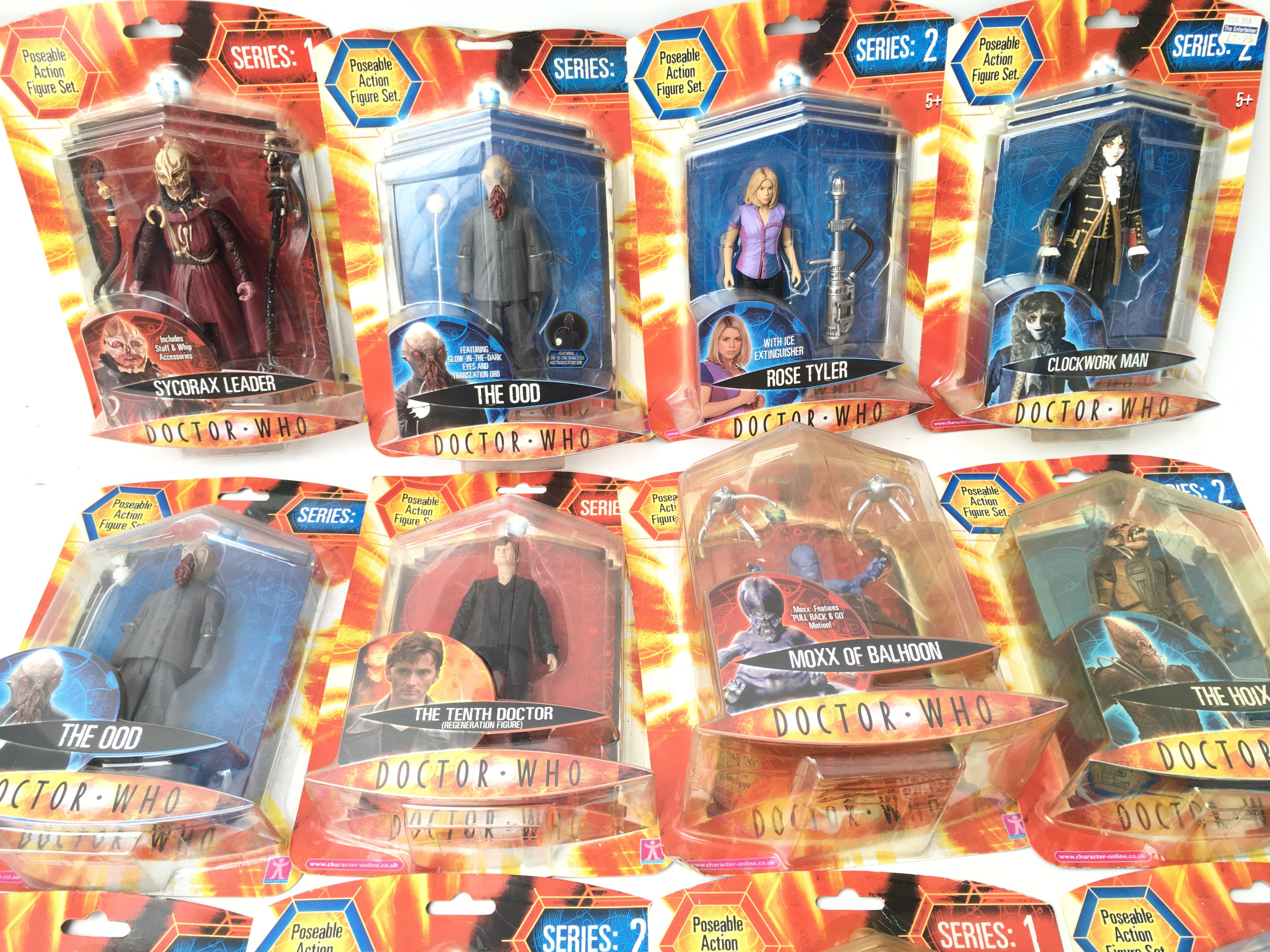 A Collection of Carded Doctor Who Figures. Includi - Image 2 of 3