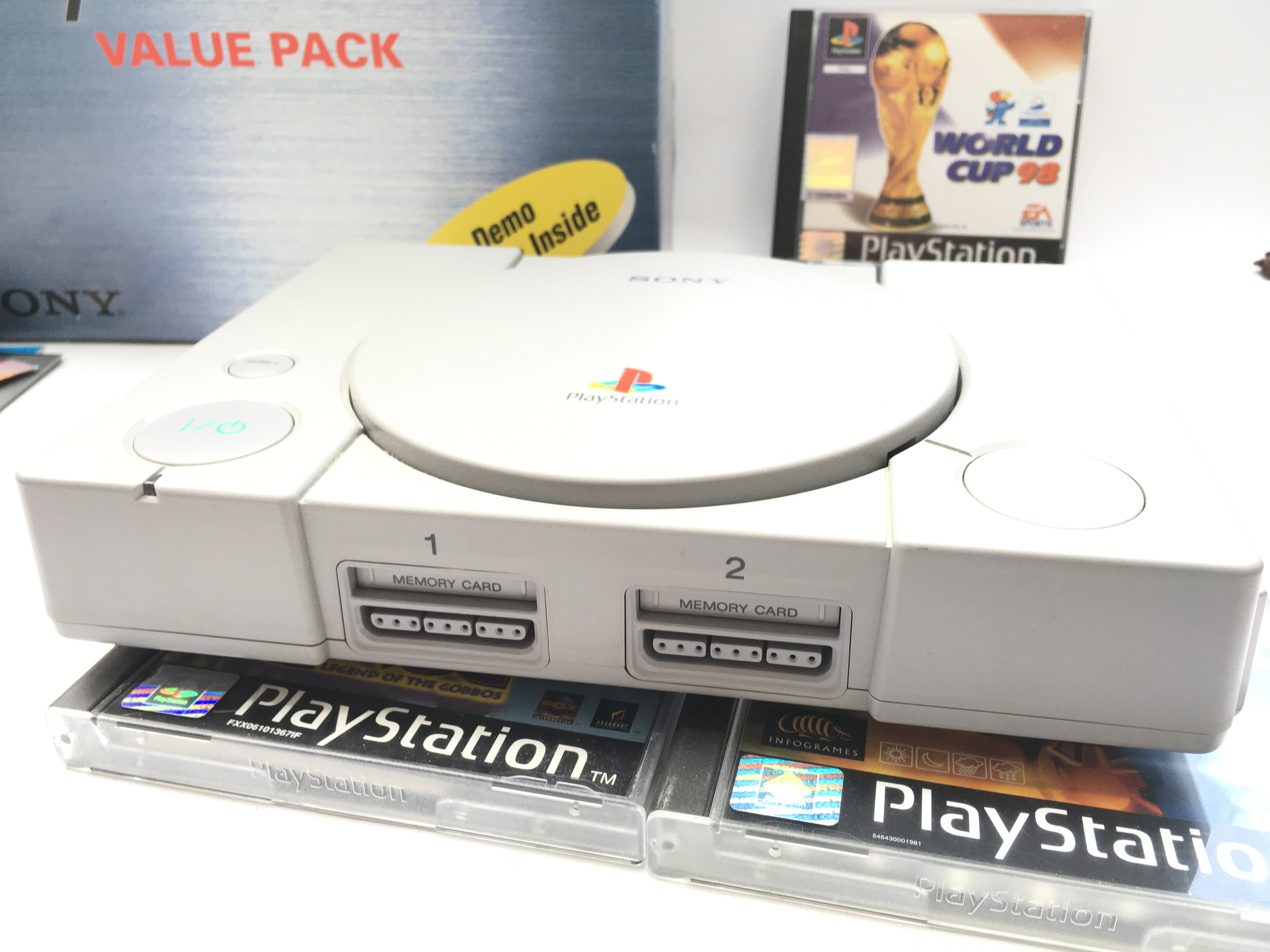 A Boxed PlayStation one With 6 Games. 2 Controller - Image 2 of 3