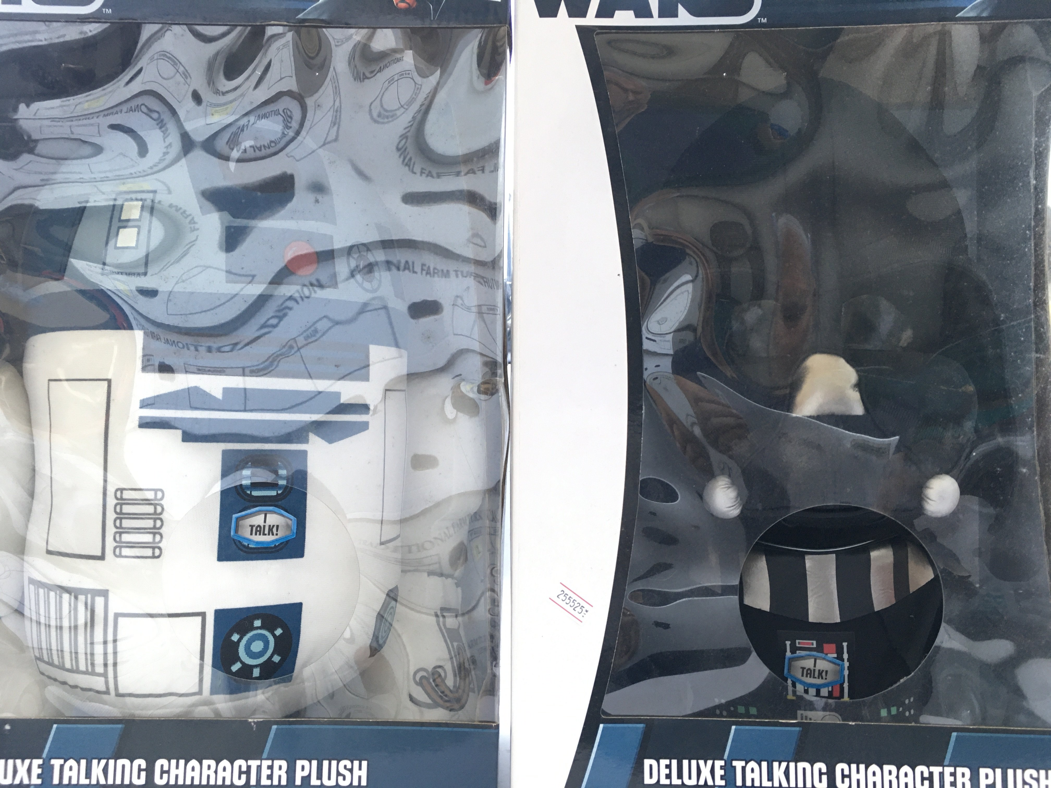 5 X Star Wars Deluxe Talking Character Plush. Incl - Image 2 of 3