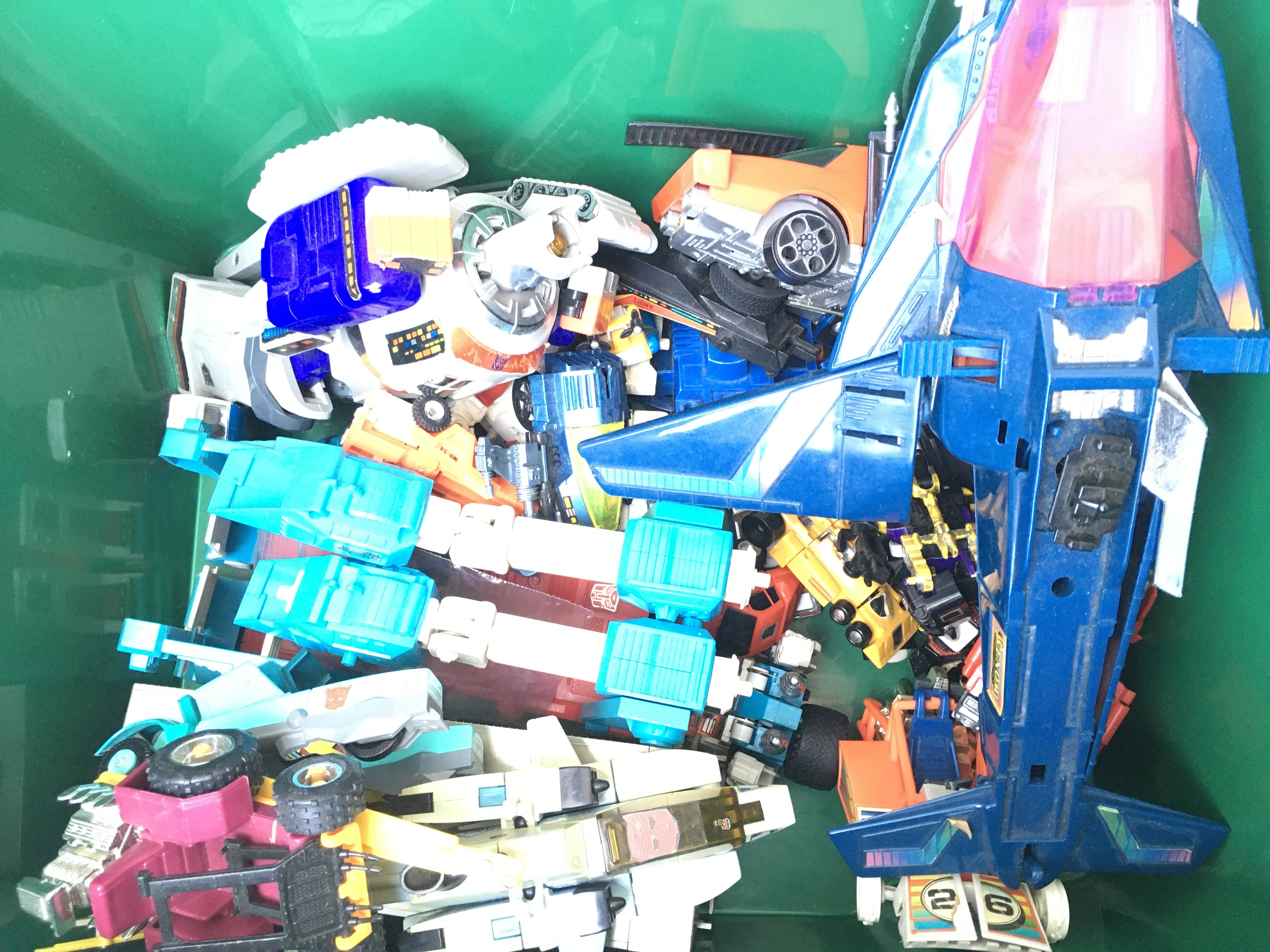 A Box Containing a Collection of Vintage Transform - Image 2 of 3
