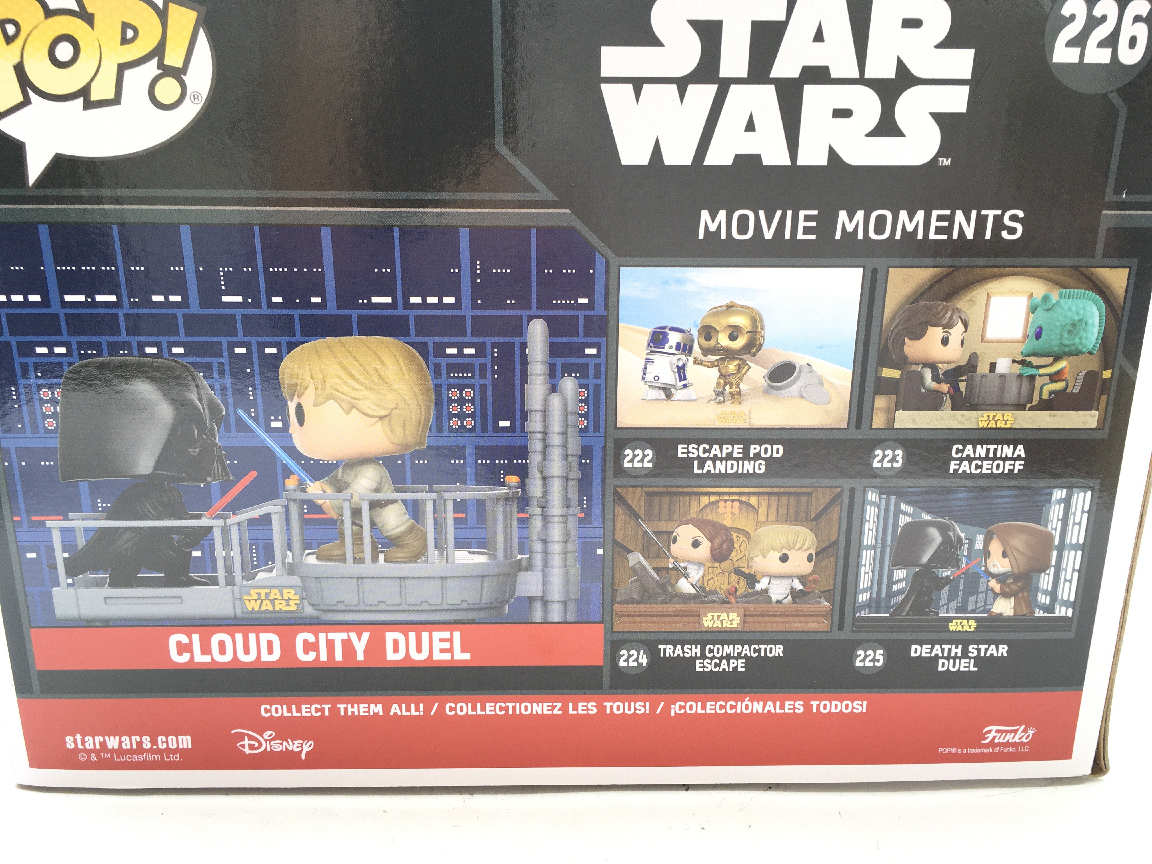 A Boxed Funko POP Star Wars Movie Moments Cloud Ci - Image 3 of 3