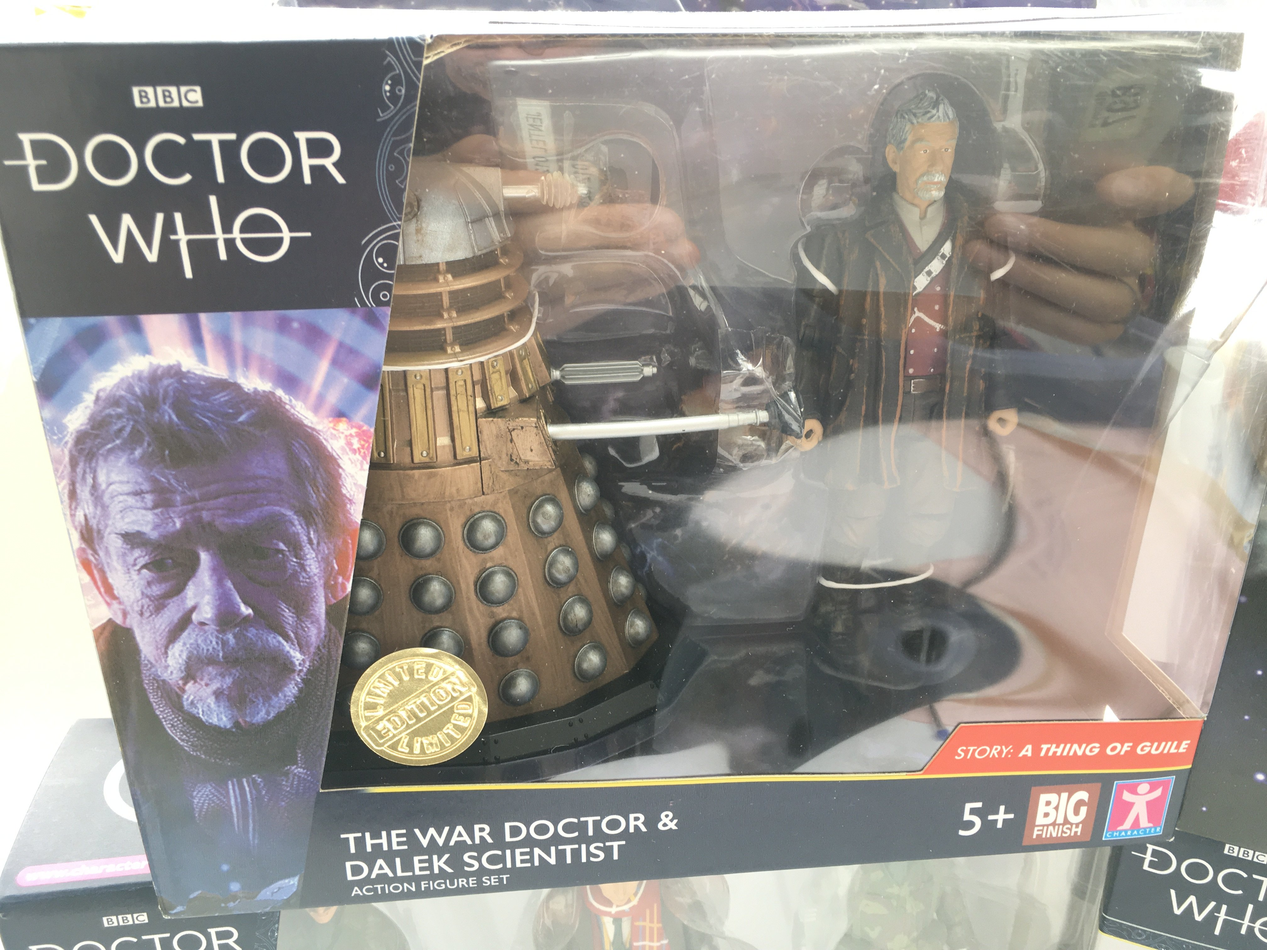 4 x Limited Editions Doctor Who Figure sets. Inclu - Image 5 of 5