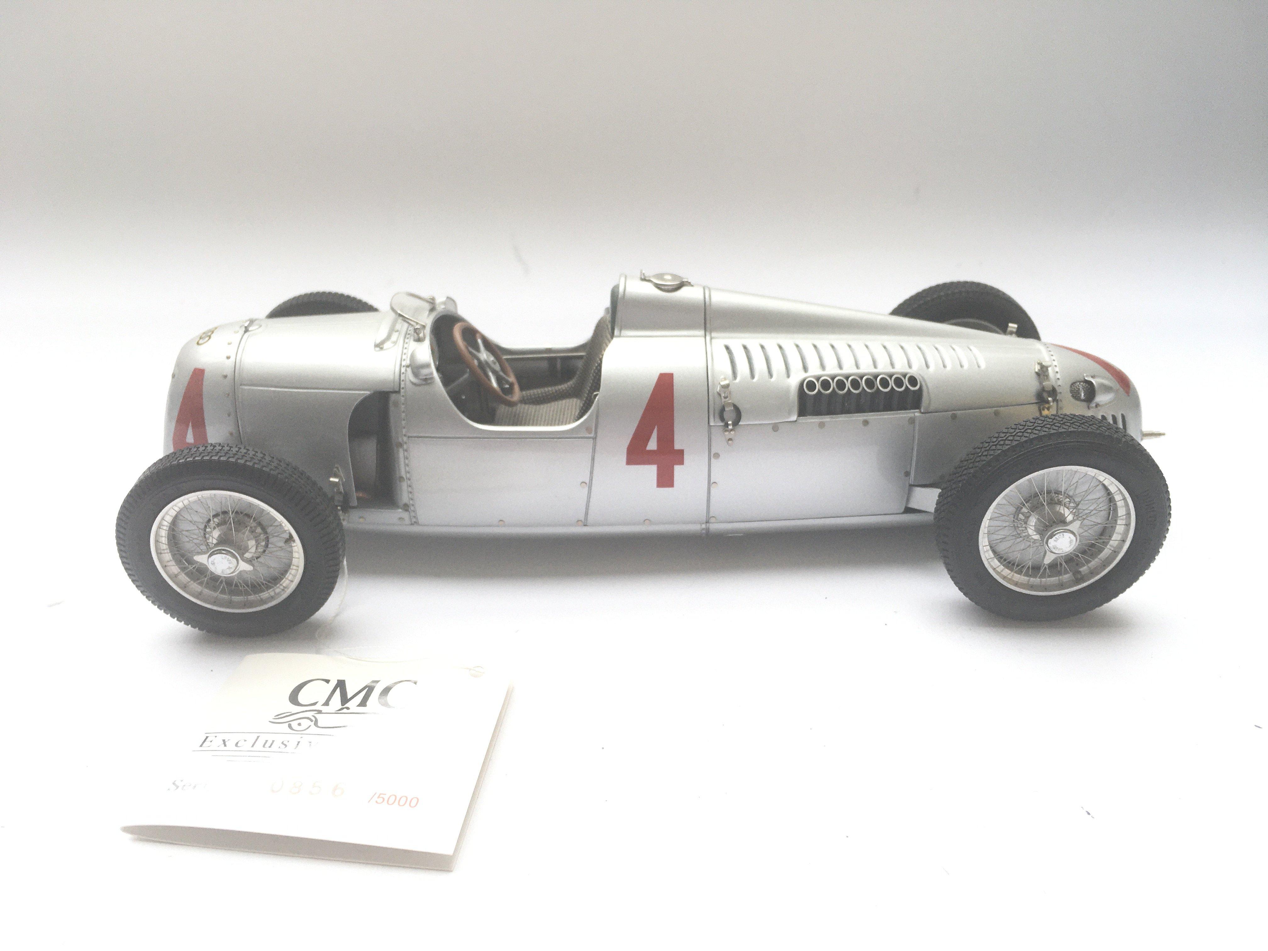 A CMC Exclusive Models Auto Union Type C Sieger GP