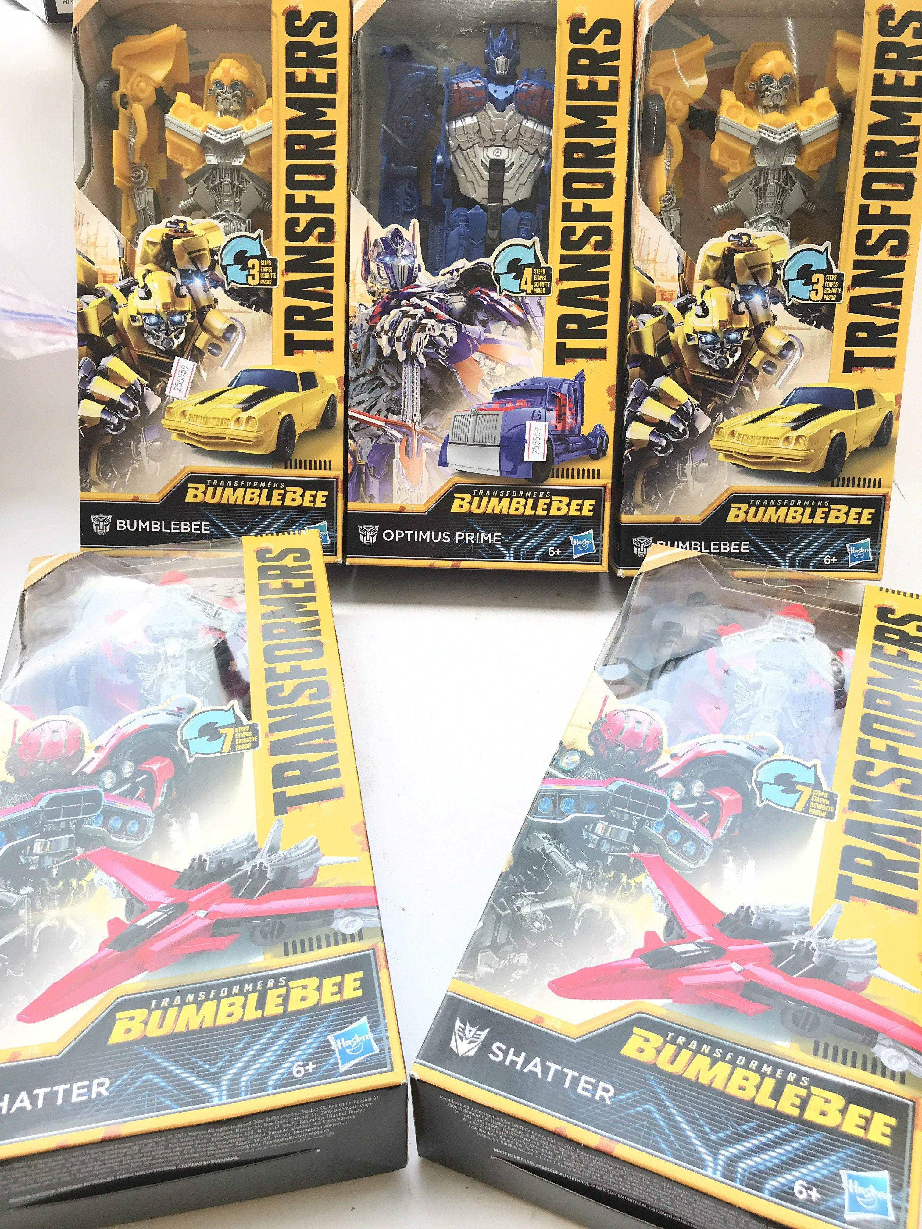 5 X Transformers. Titan Changers Boxed. By Hasbro.