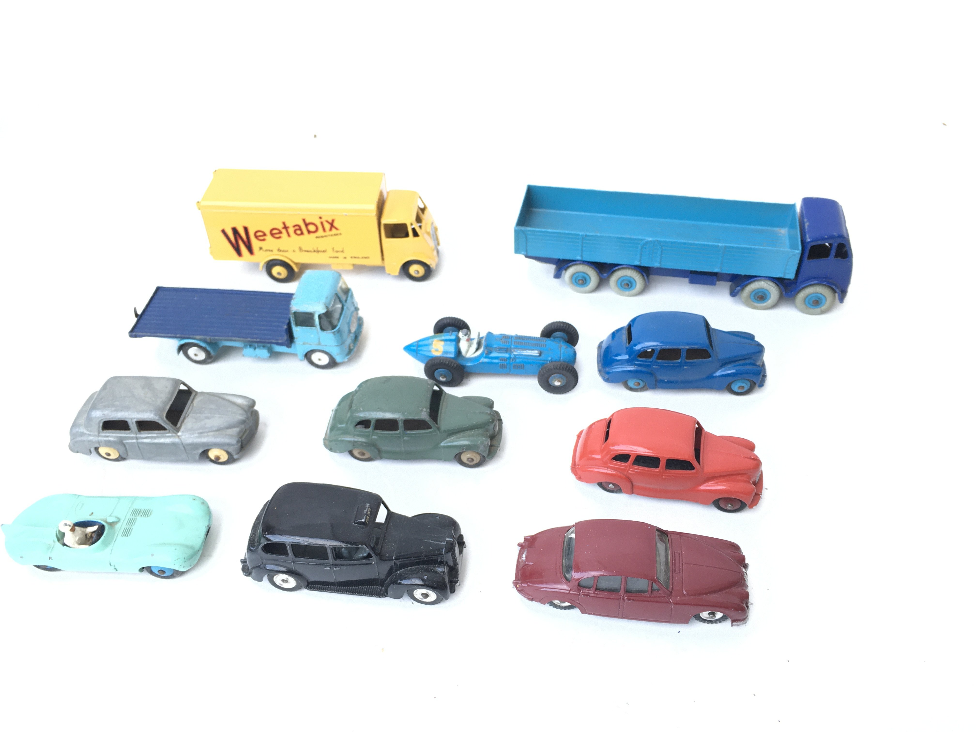 A Collection of Loose Dinky Vehicles including A F