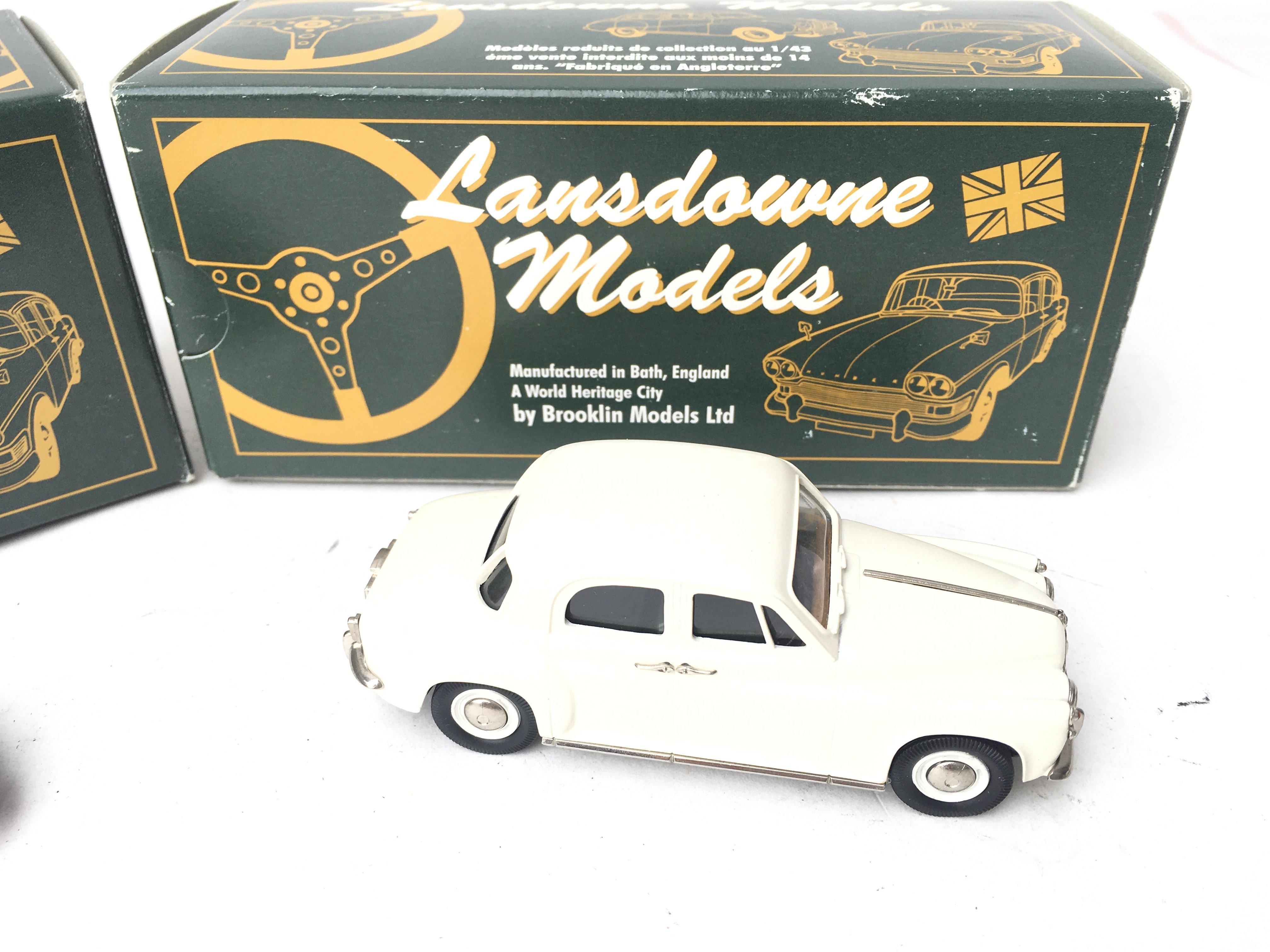 2 X Lansdowne Models. LDM 25 1954 Singer SM Roadst - Image 3 of 3