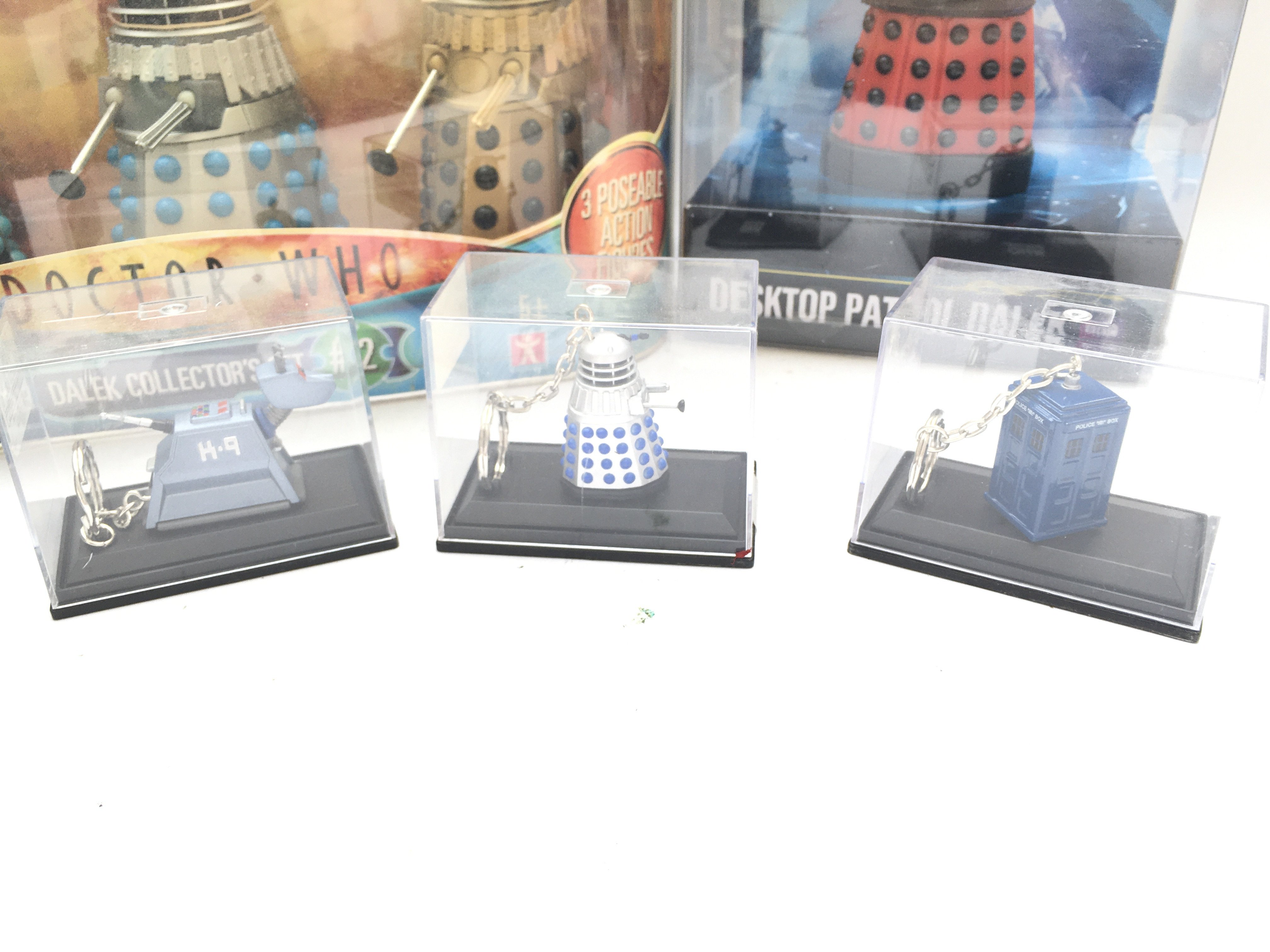 A Collection of Doctor who Boxed Key rings. A Dale - Image 2 of 2
