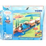 2 X Thomas and Friends motor Road & Rail Sets. Thomas & Cranky Deluxe Action Set and a Thomas Medium