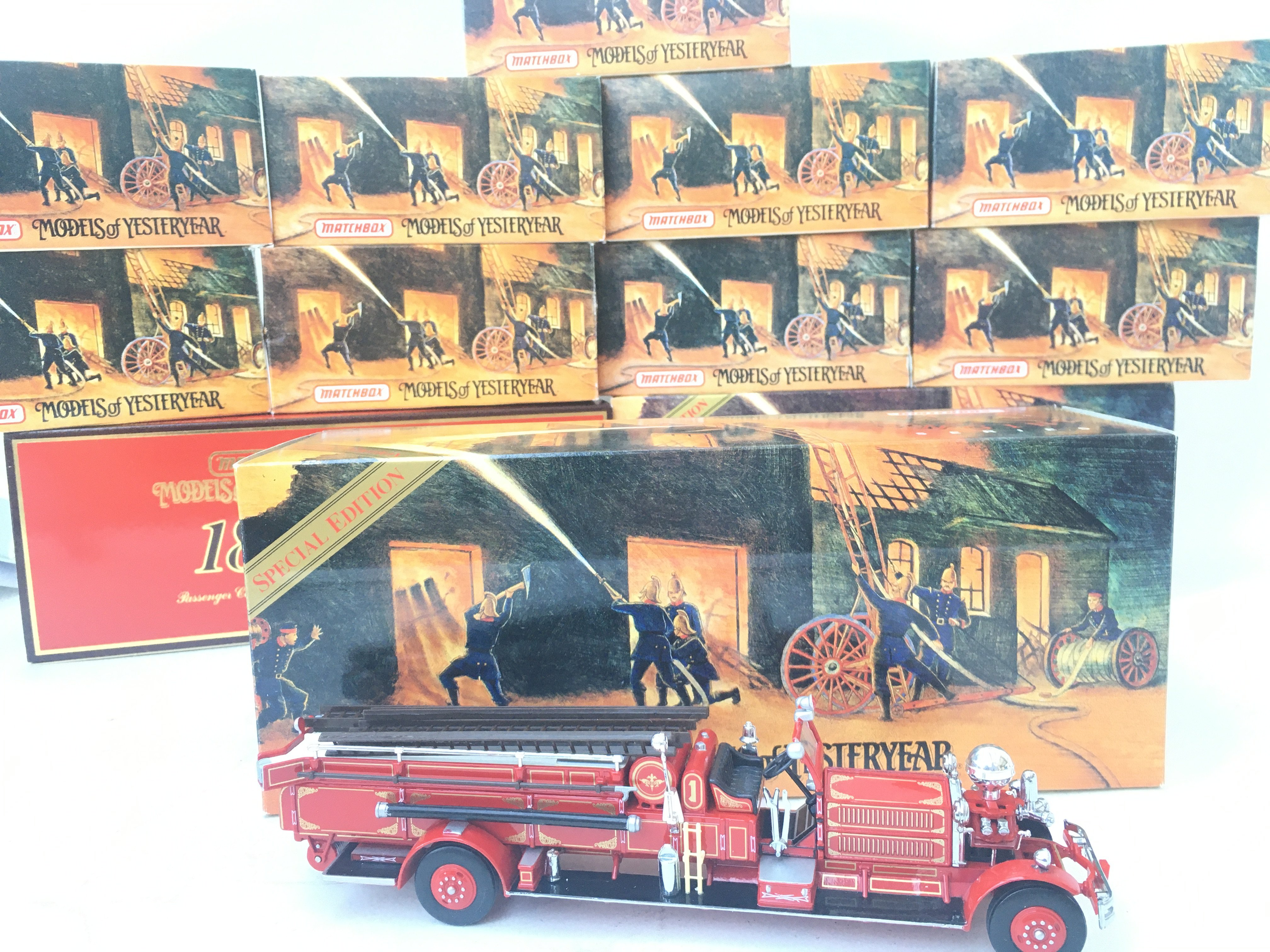 A Collection of Matchbox Models of Yesteryear mostly the Fire Engine Series. All Boxed. - Image 2 of 3