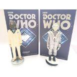 2 X Robert Harrow Designs Doctor Who Hand Painted