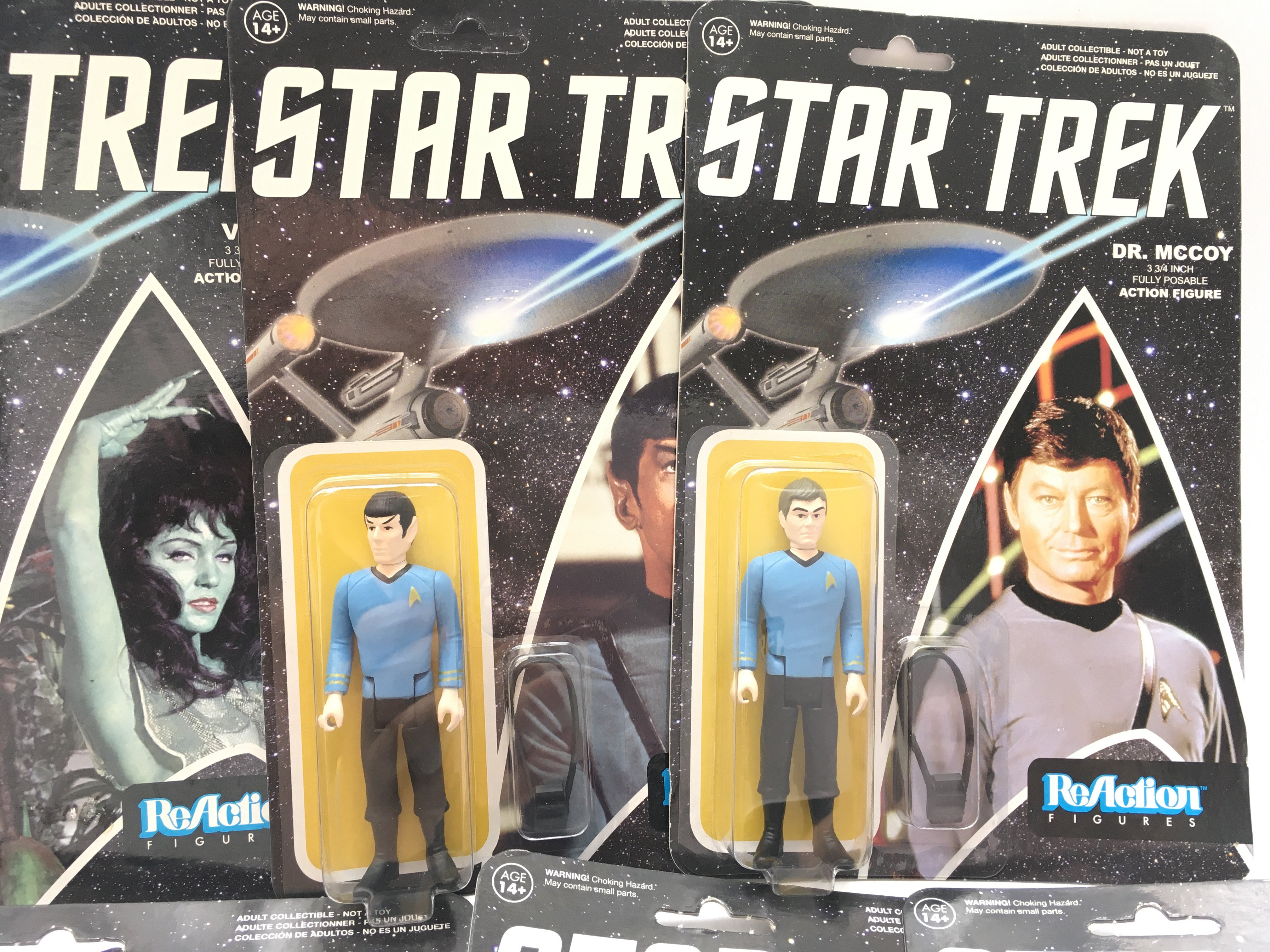 A Collection of ReAction Star Trek Figures. Includ - Image 3 of 5