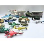 A Collection of Playworn Diecast including Matchbo