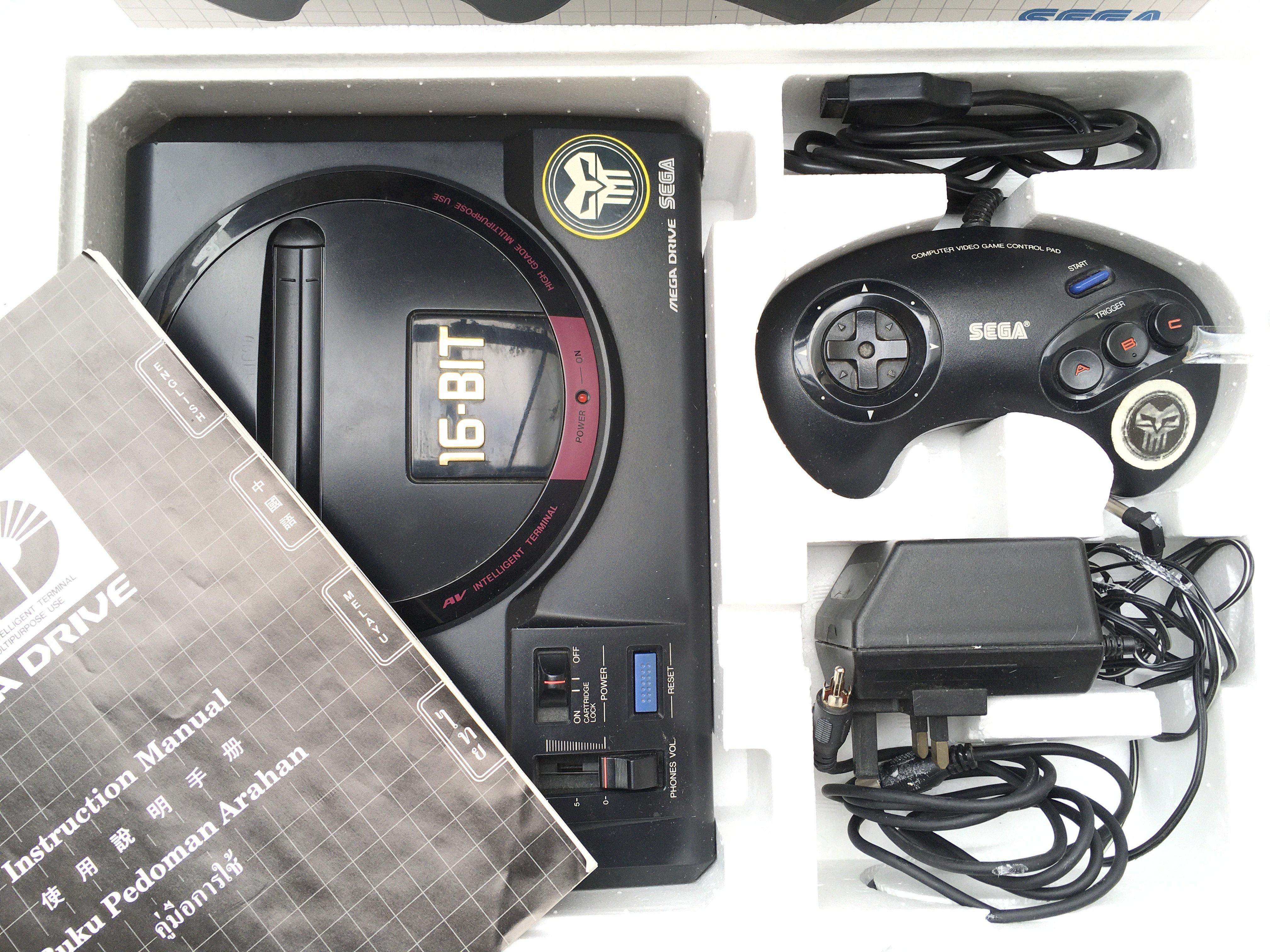 An Asian Pal-import Boxed Sega Drive 16bit. 6 Game - Image 2 of 4