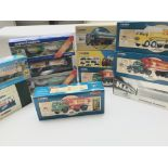 A Collection of Corgi Classic And other Petrol tan
