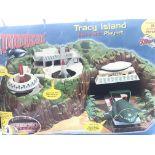 A Carlton Thunderbirds Tracy Island Boxed.
