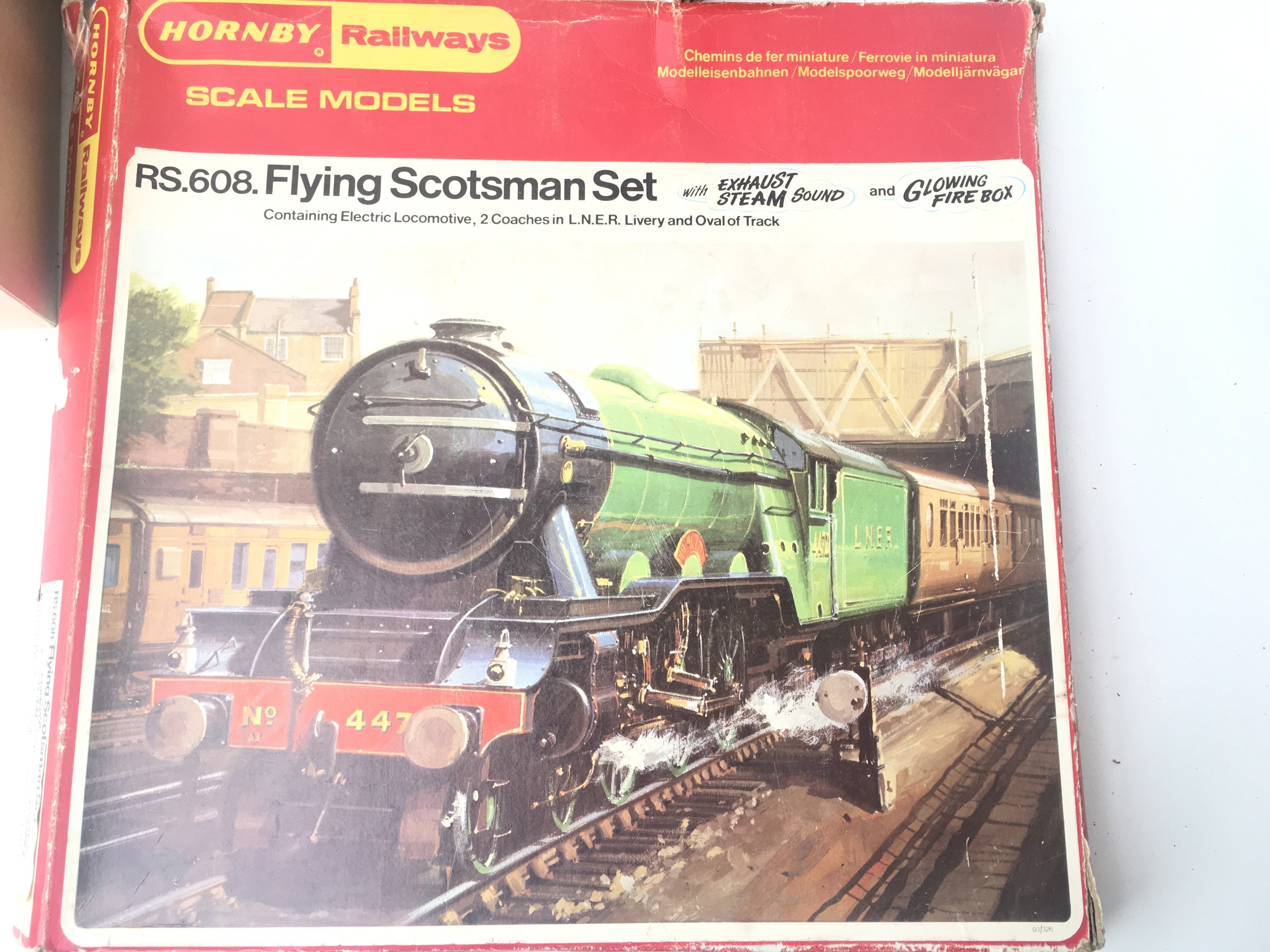 A Boxed Hornby Flying Scotsman Set # RS.608 A Brea - Image 2 of 3