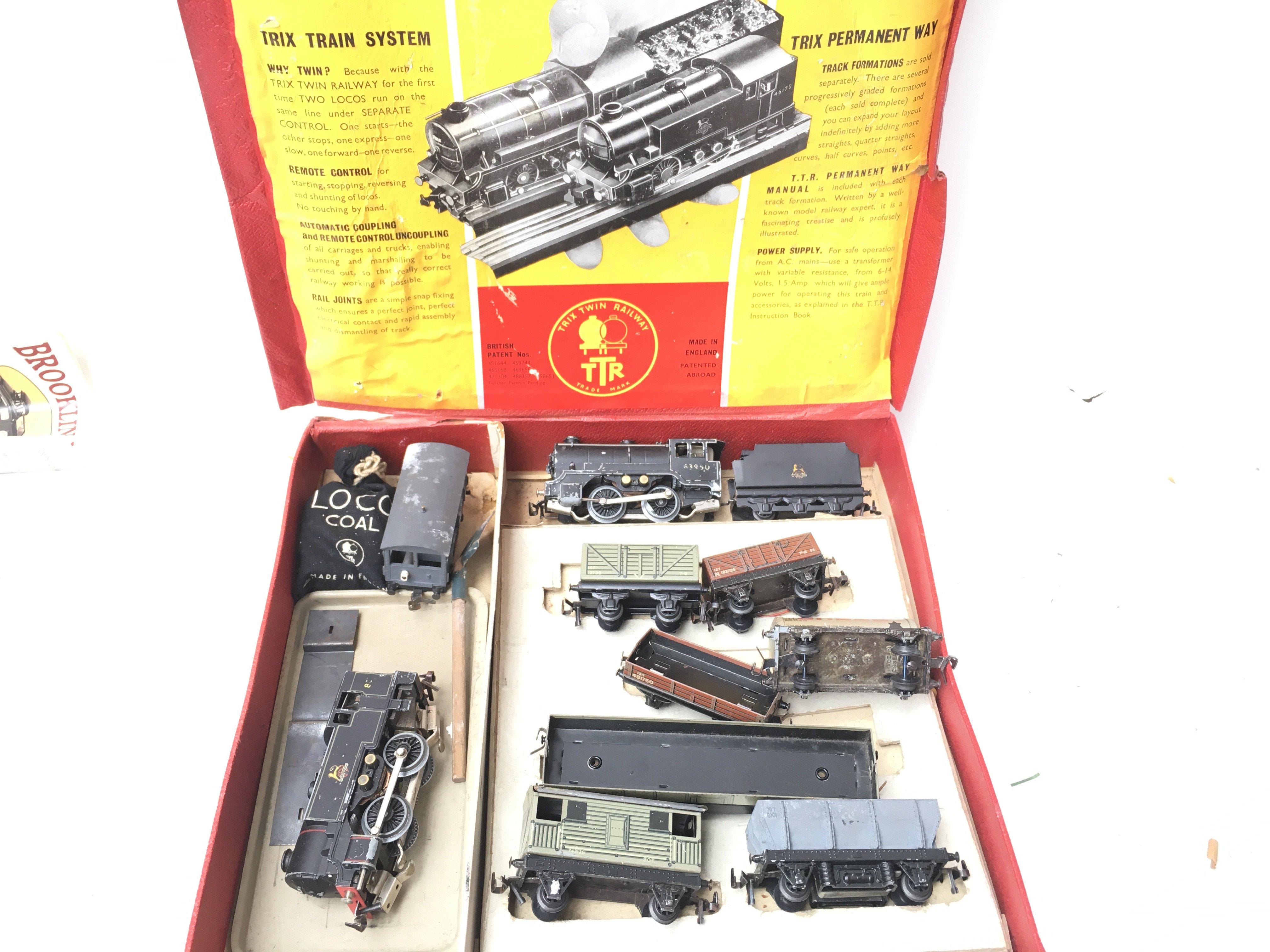 A Box Containing Trix Twin Railway.