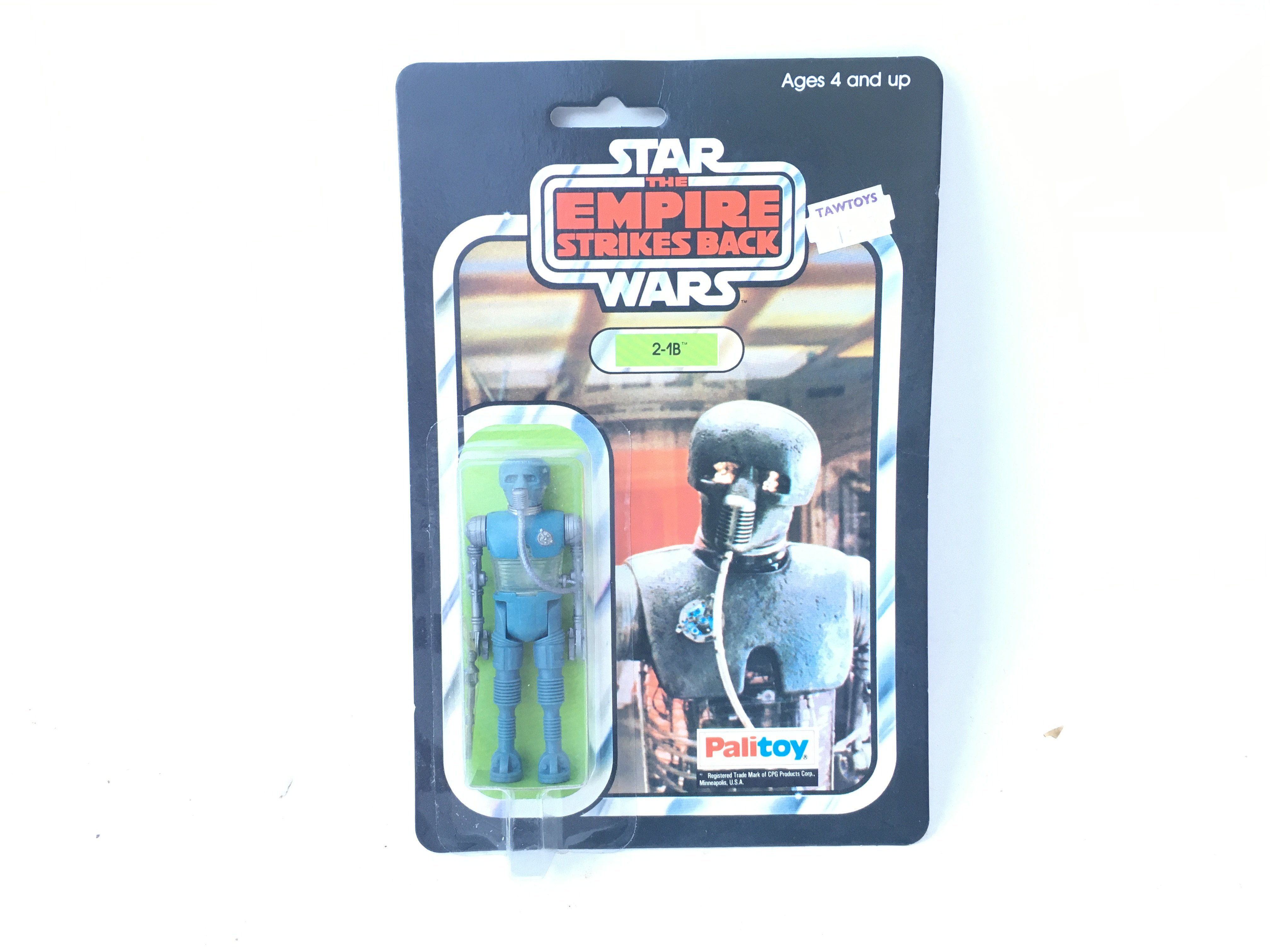 A Vintage Palitoy Star Wars 21B Carded.