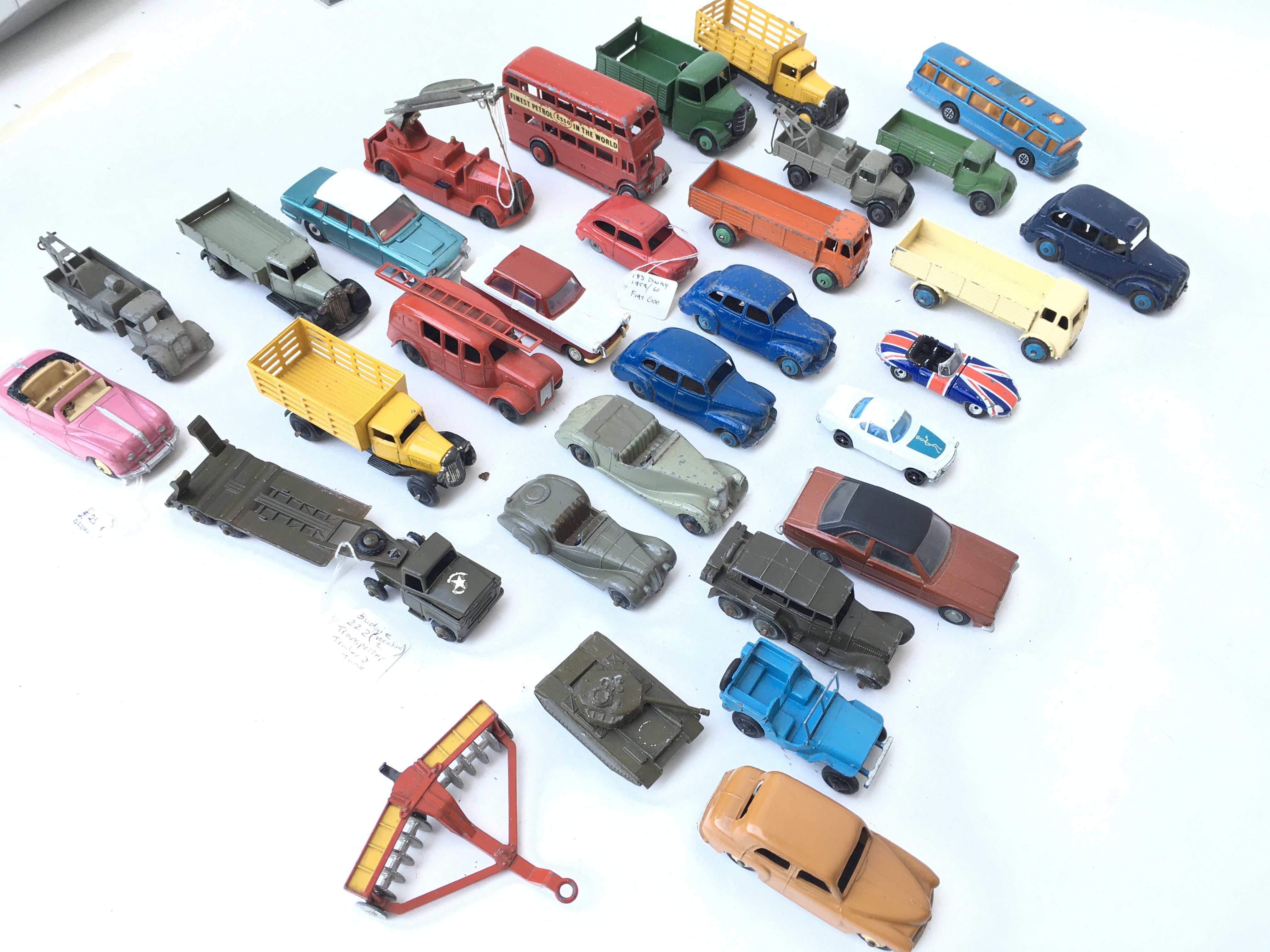 A Collection of Playworn Diecast Vehicles includin - Image 3 of 3
