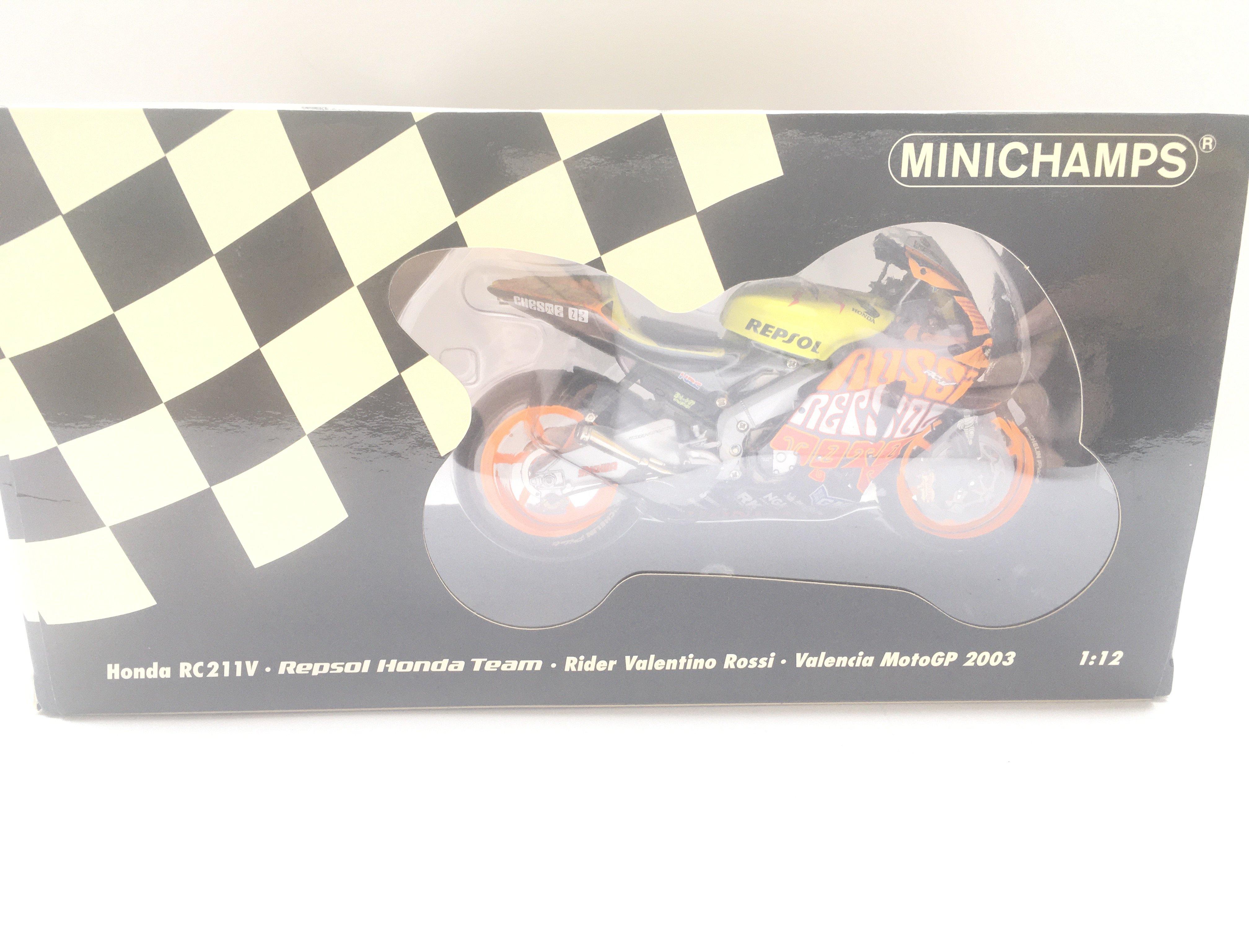 A Minichamps Honda RC211V. Repsol Honda Team. Vale - Image 2 of 2