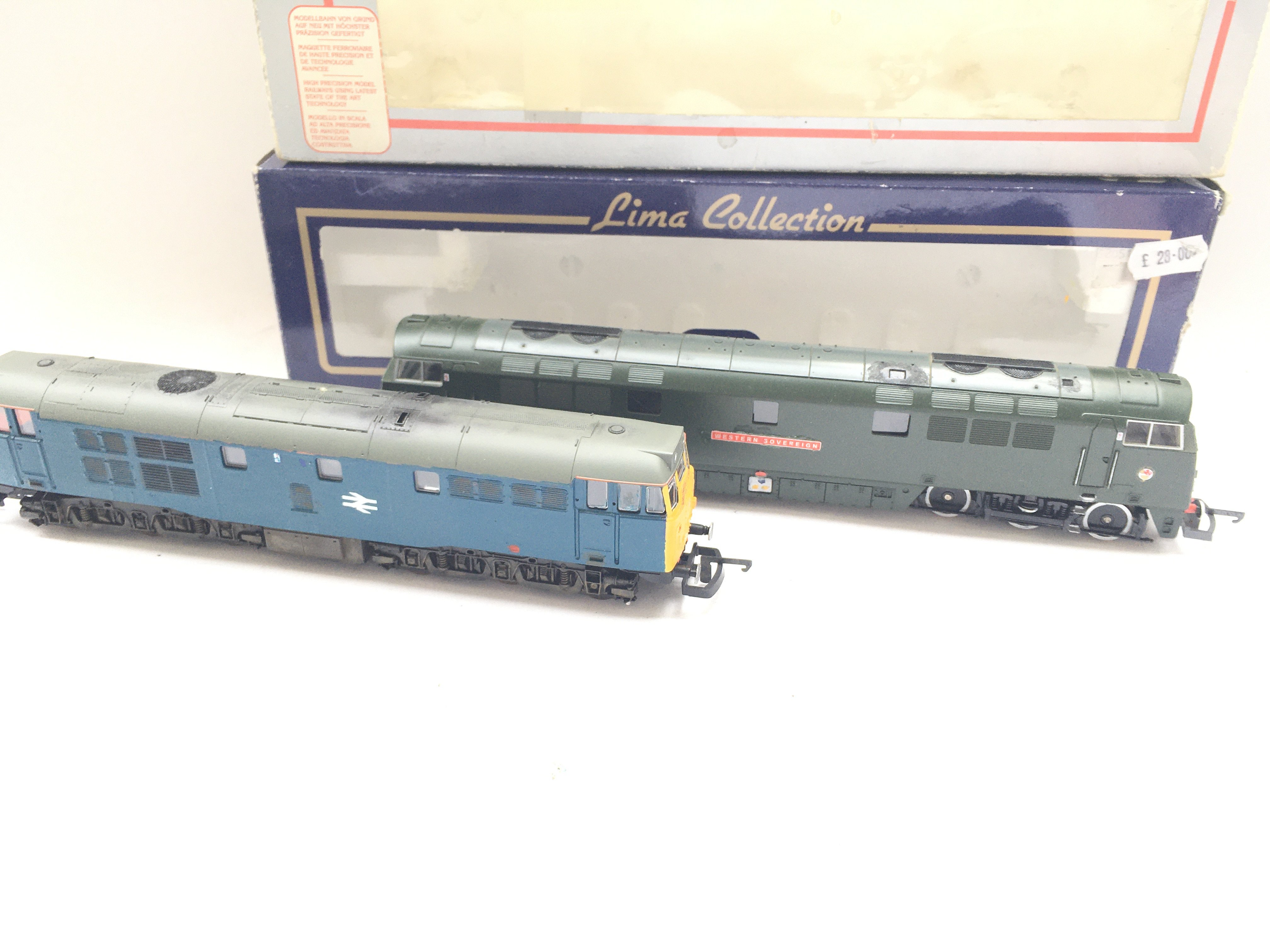 2 X Boxed Lima Locomotives including Western Sover