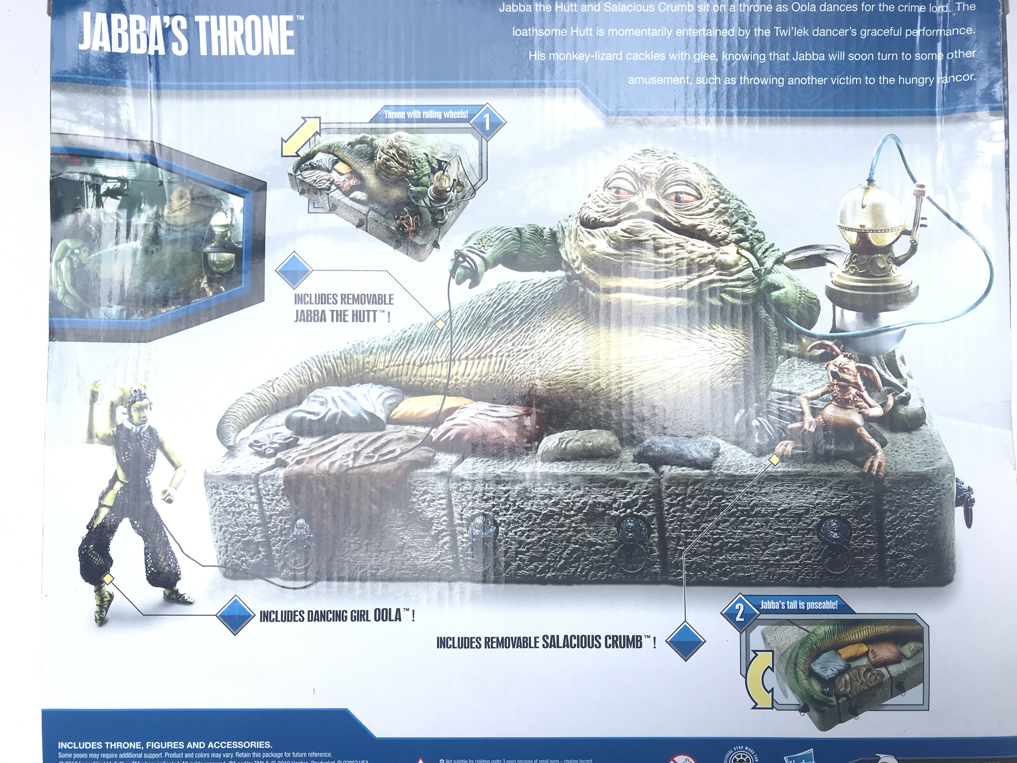 A Boxed Star Wars Jabbas Throne including Dancing - Image 2 of 2