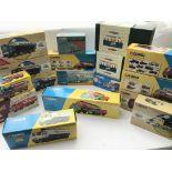 A Box Containing a Collection of Corgi Classic lor