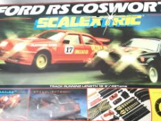 A Scalextric Ford RS Cosworth Set.