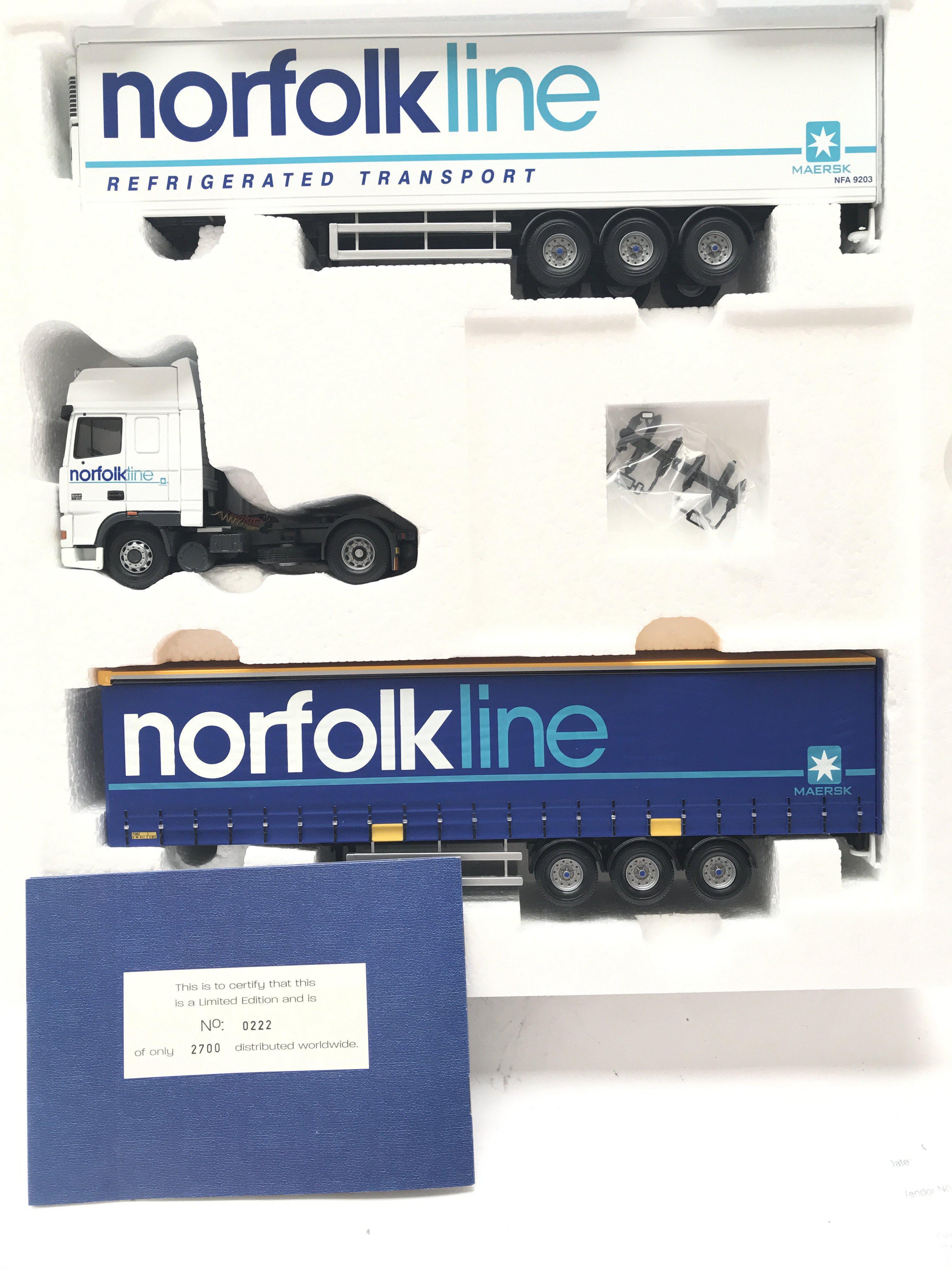 A Boxed Corgi Norfolk Line Lorry Scale 1:50. #CC99