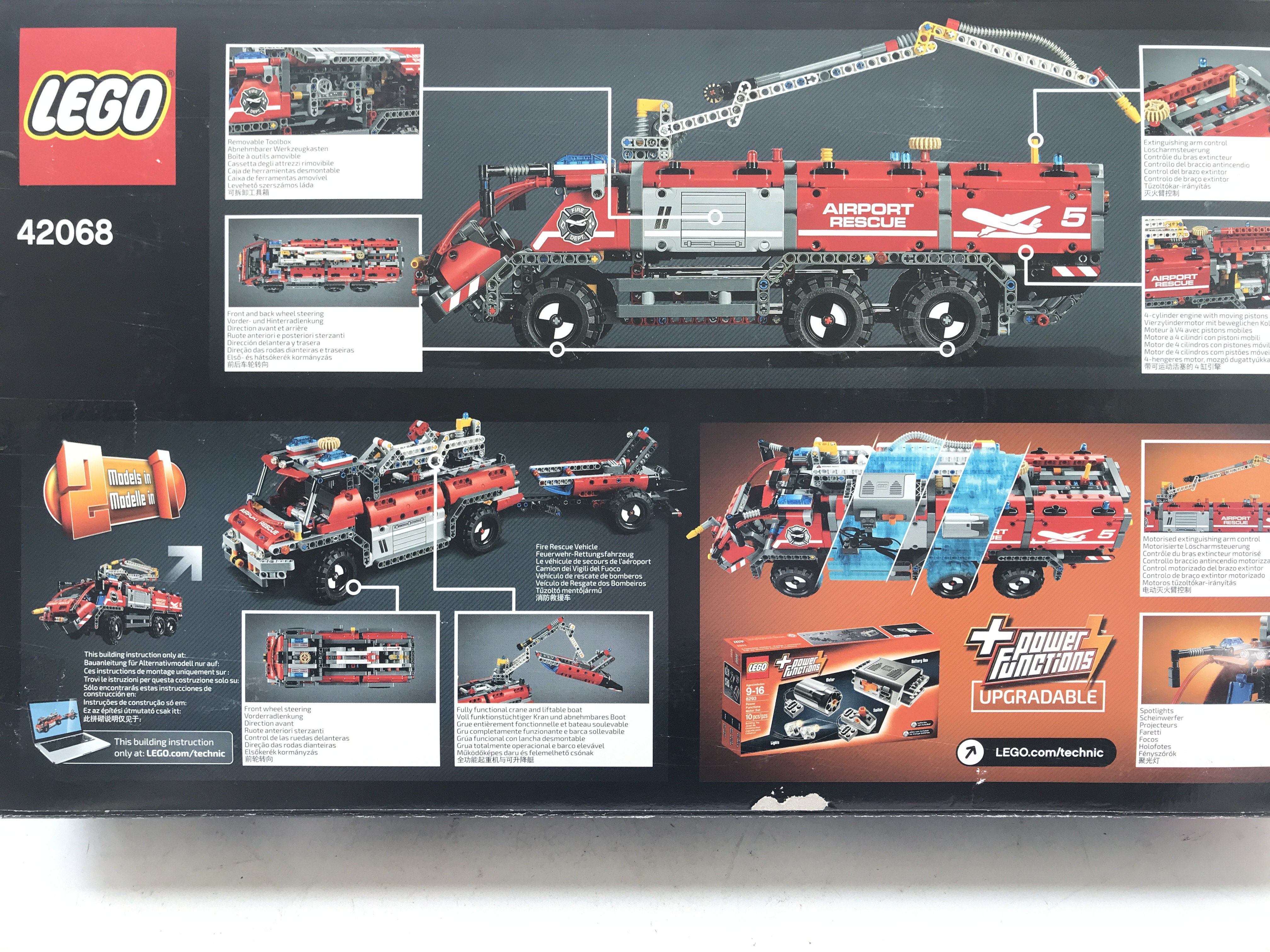 A Boxed Lego Technic Airport Rescue Vehicle #42068 - Image 2 of 2