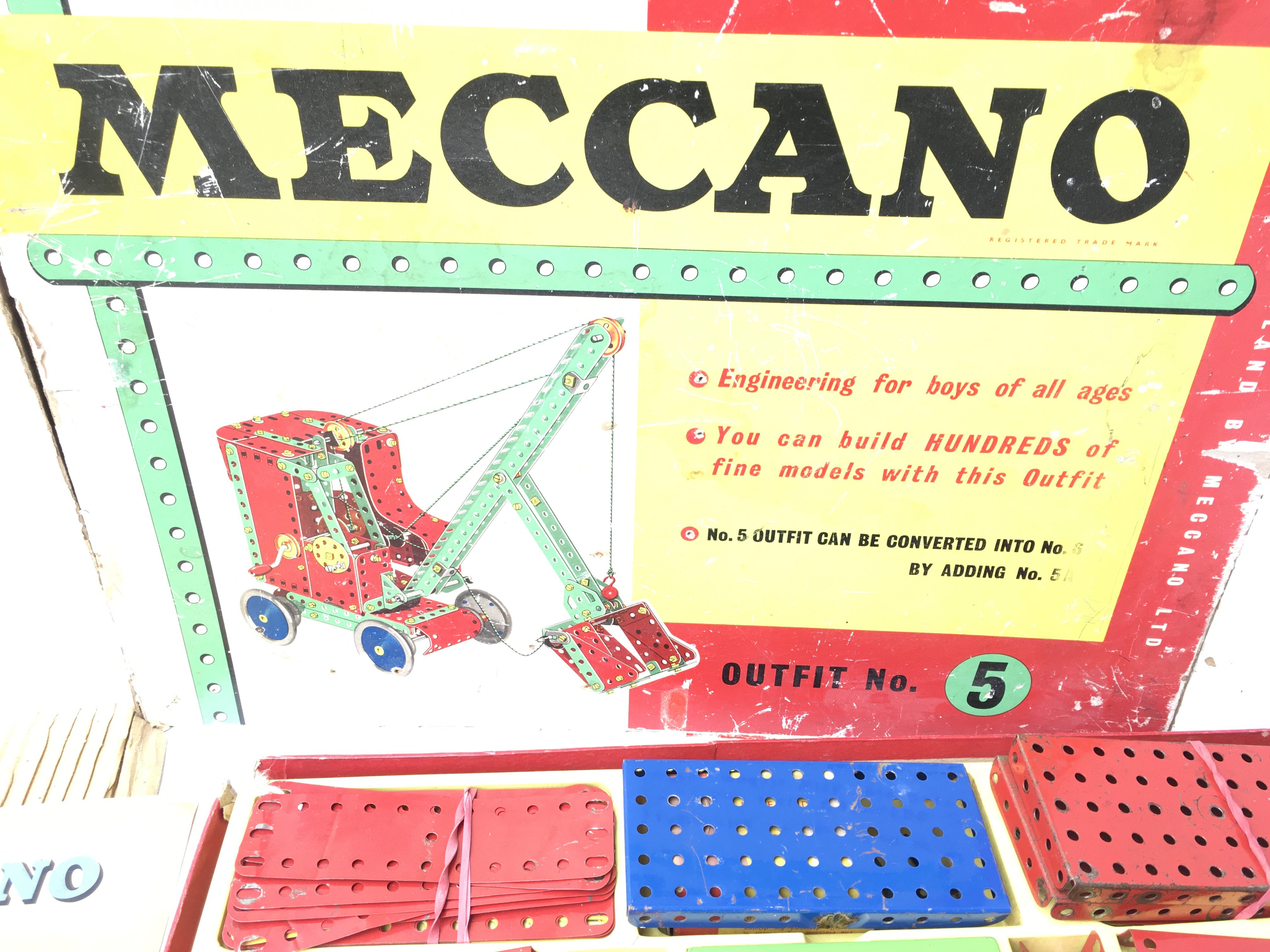 A Boxed Meccano outfit No.5 also includes No.1. - Image 4 of 4