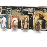 4 X Star Wars 40th Anniversary Carded Figures incl