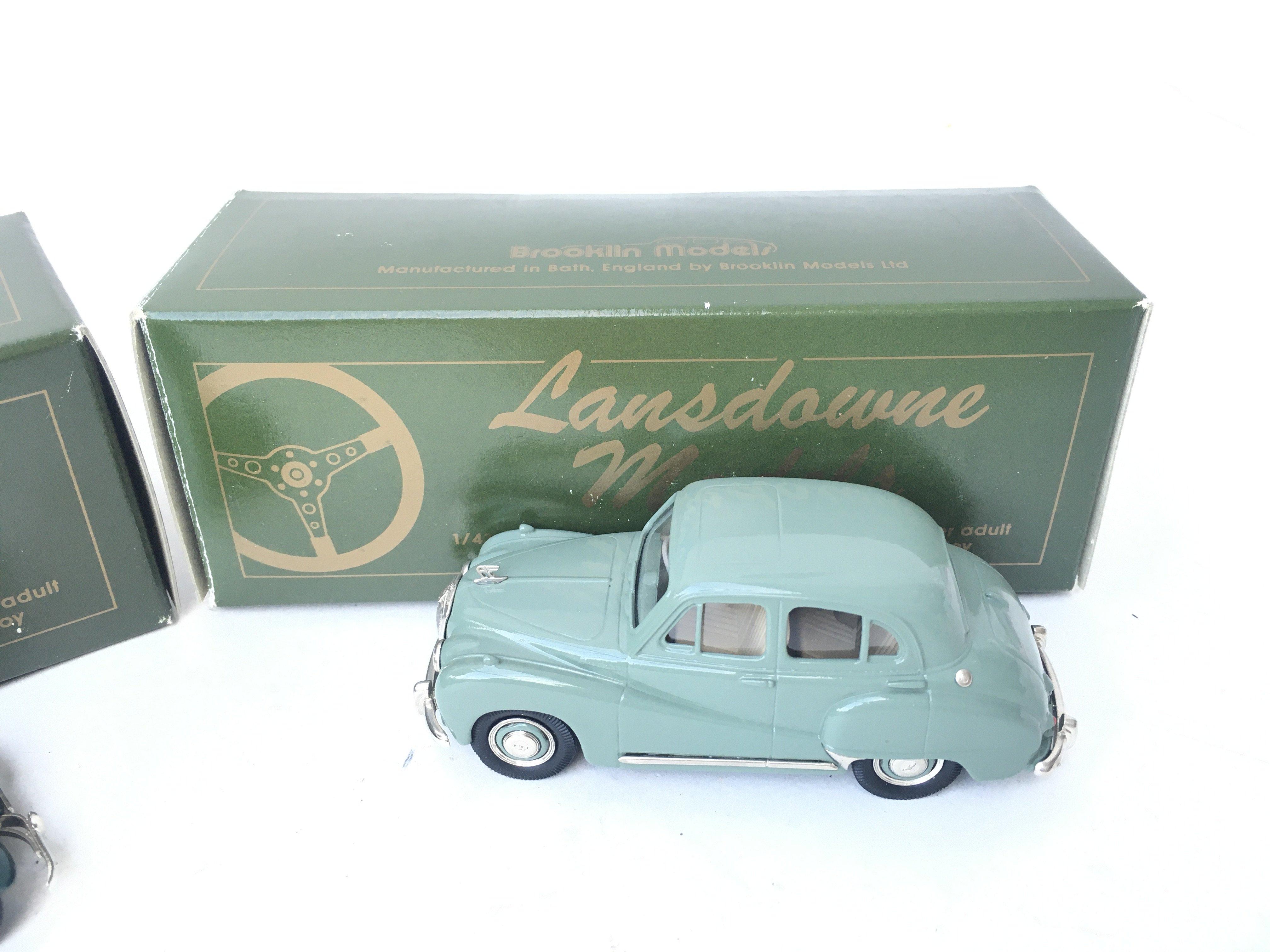 2 X Lansdowne Models including LDM 21 1950 Lea Fra - Image 3 of 3