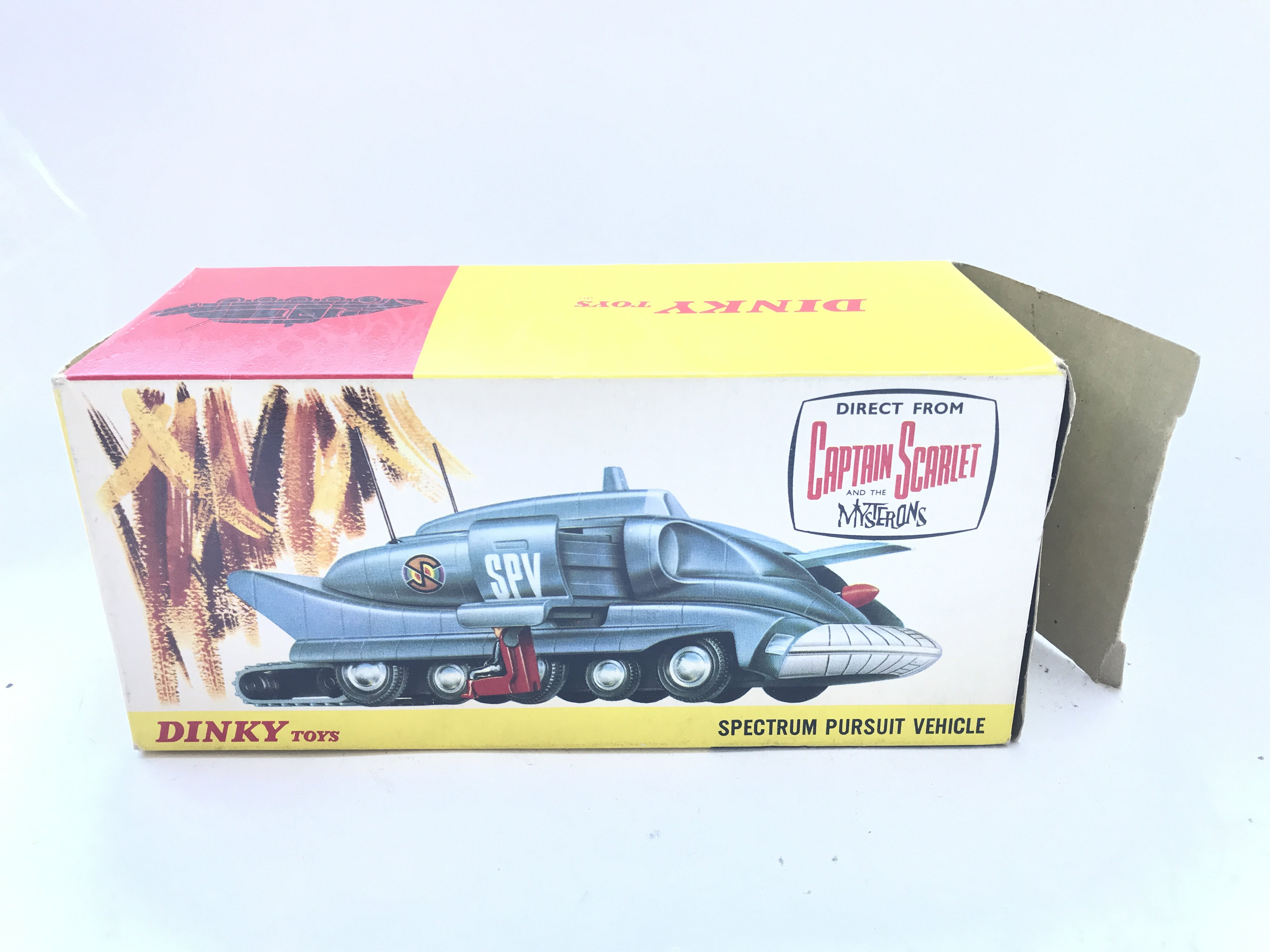 A Dinky Toys Spectrum Pursuit Vehicle Boxed. #104. - Image 4 of 4