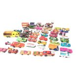 A Collection of Matchbox Cars mostly Superfast.