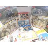 A Box Containing Various Model kits including Airf