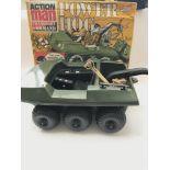 A Boxed Vintage Action Man Power Hog. (Parts Missi
