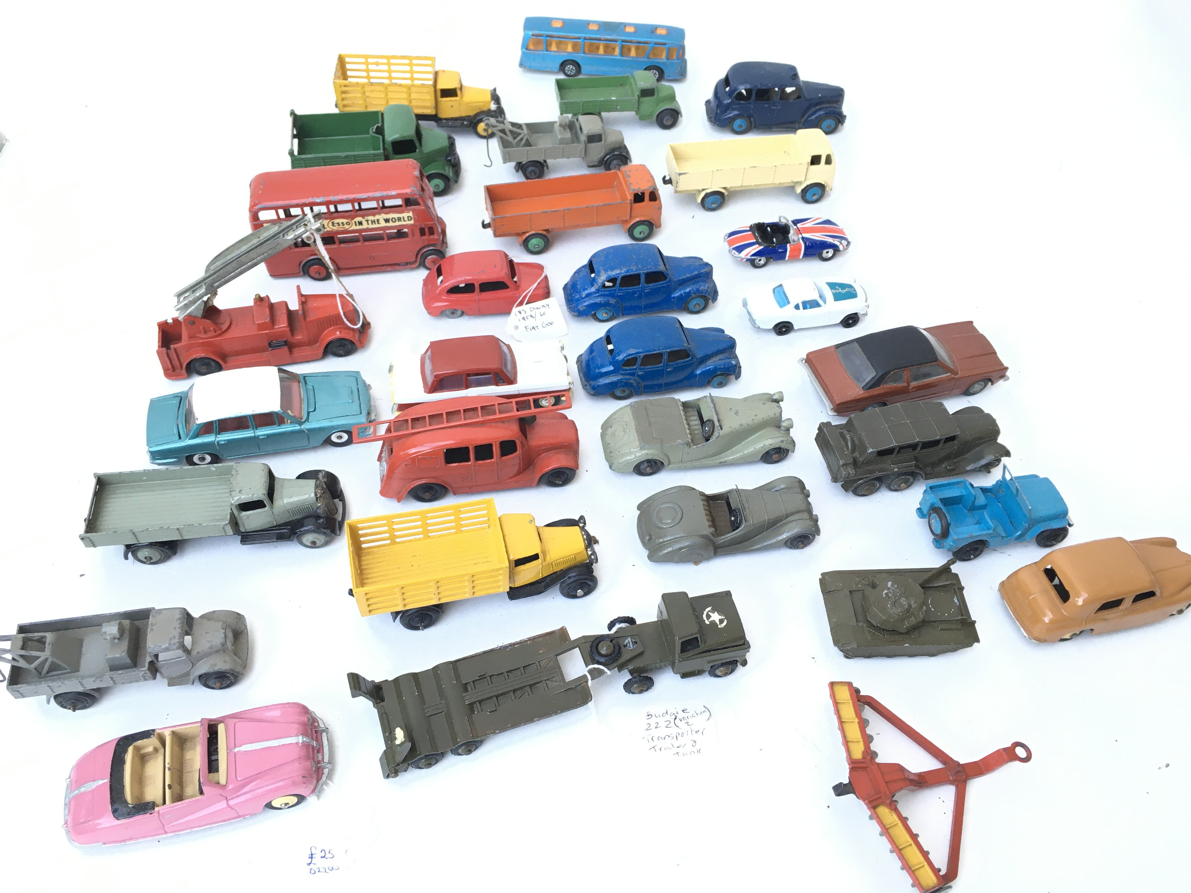 A Collection of Playworn Diecast Vehicles includin