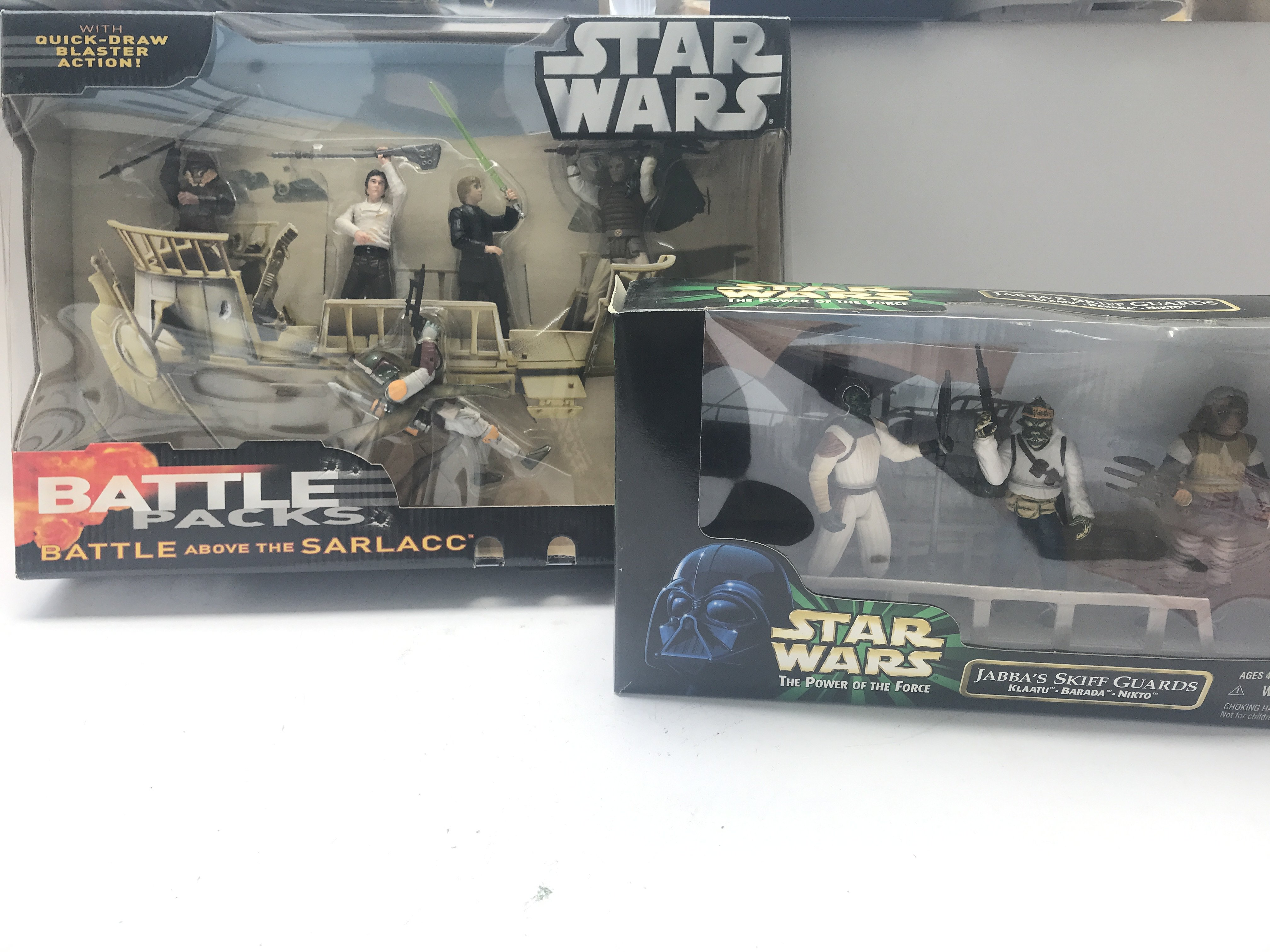 A Star Wars Hasbro Battle Above The Sarlacc pack.