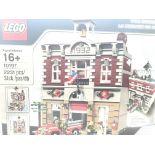 A Boxed Lego Fire Brigade 2231 pcs #10197.