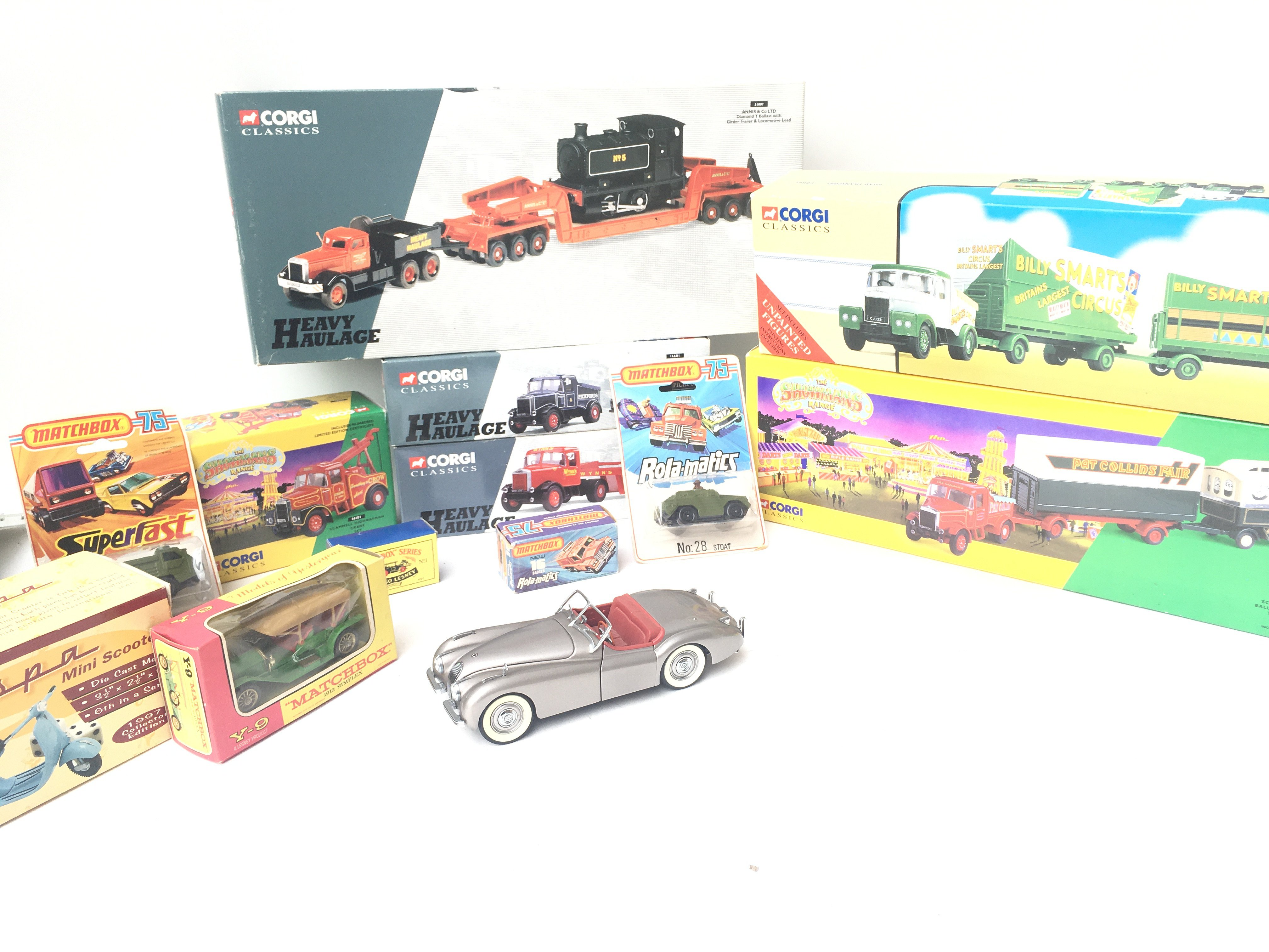 A Collection of Various Boxed Die-Cast including V
