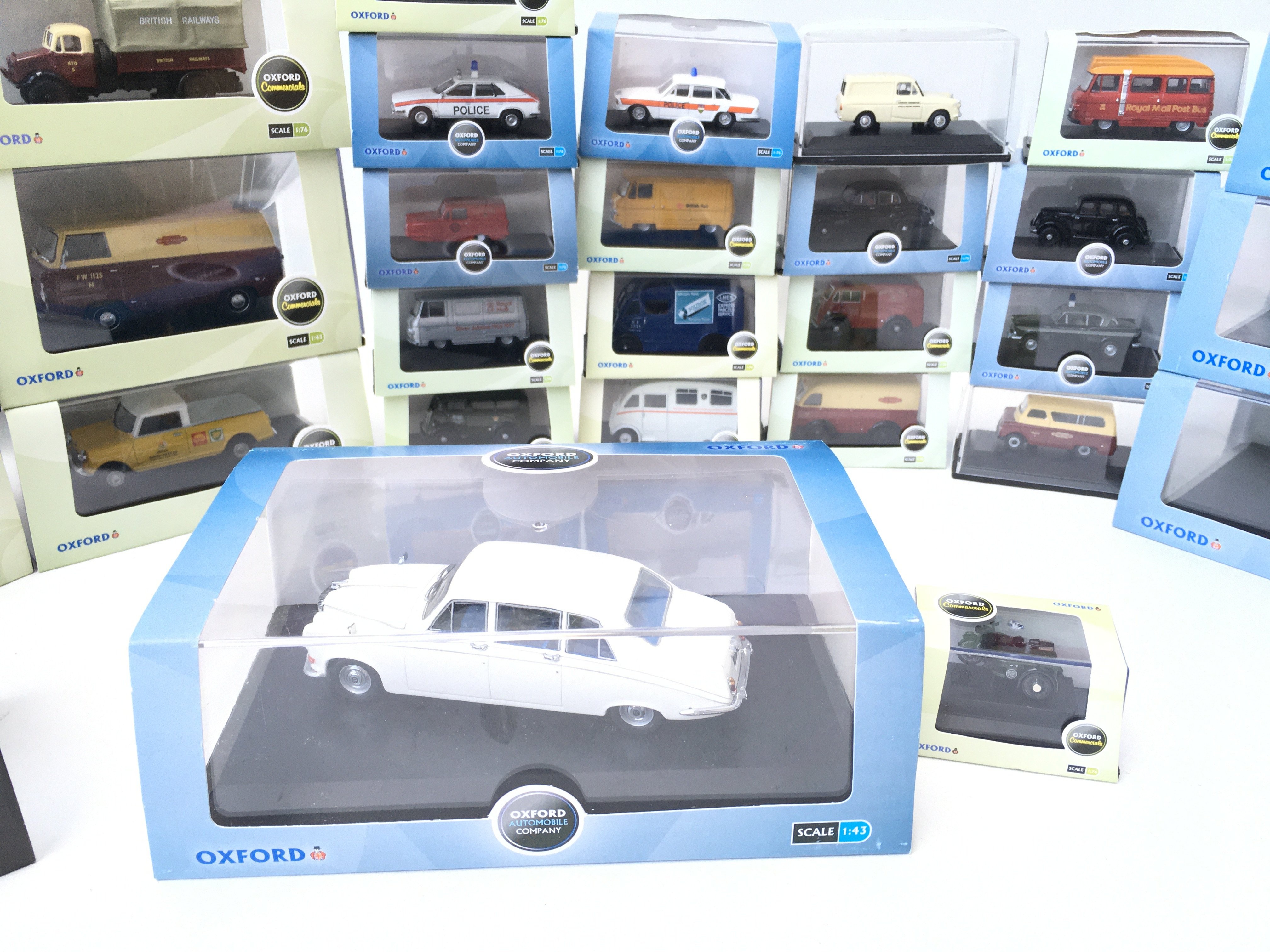 A Collection of Oxford Die-cast all boxed including Fire. haulage. automobile etc. - Image 4 of 4