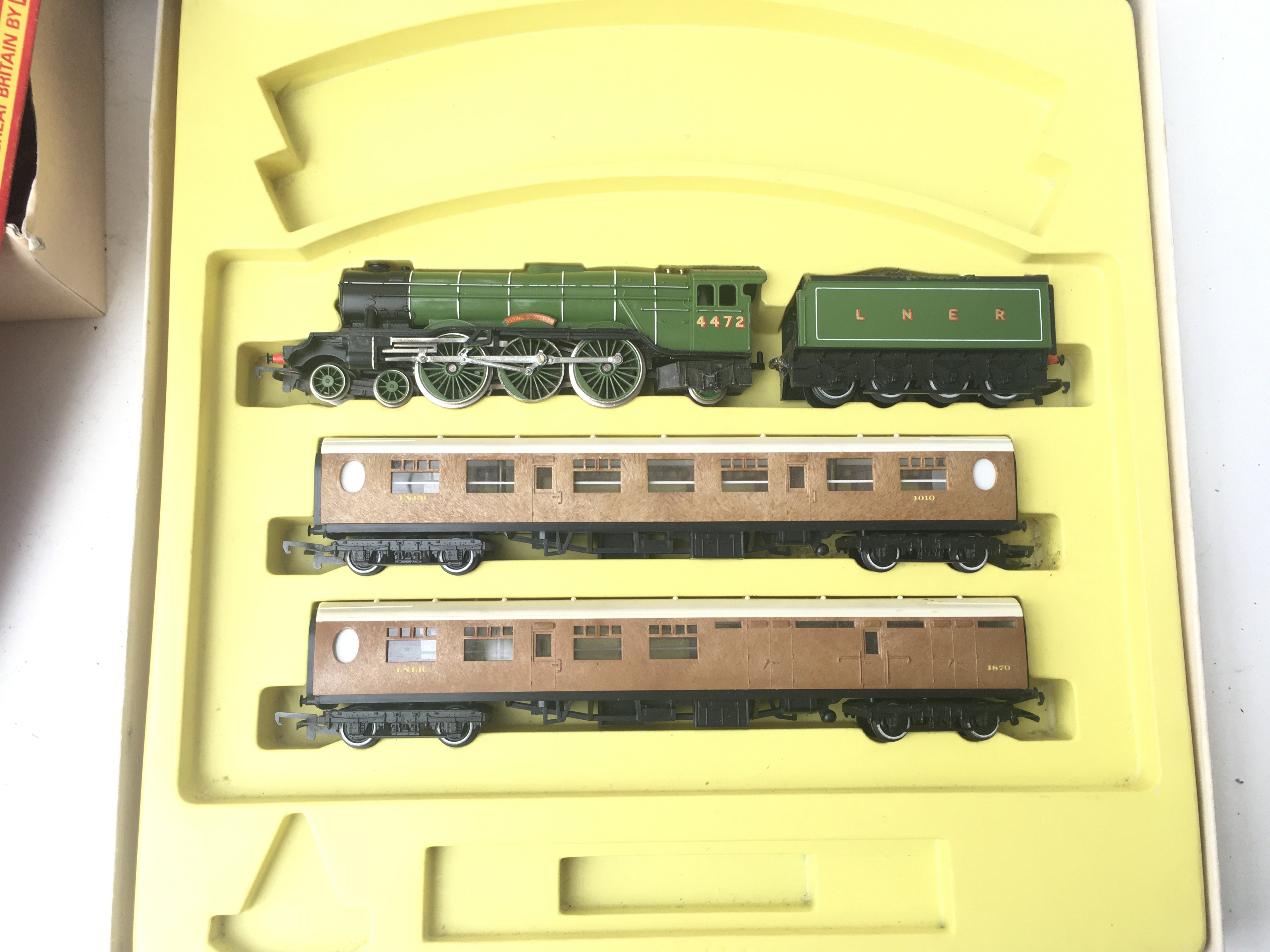 A Boxed Hornby Flying Scotsman Set # RS.608 A Brea - Image 3 of 3
