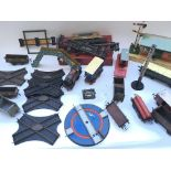 Large collection of Hornby including trains - track - setting.