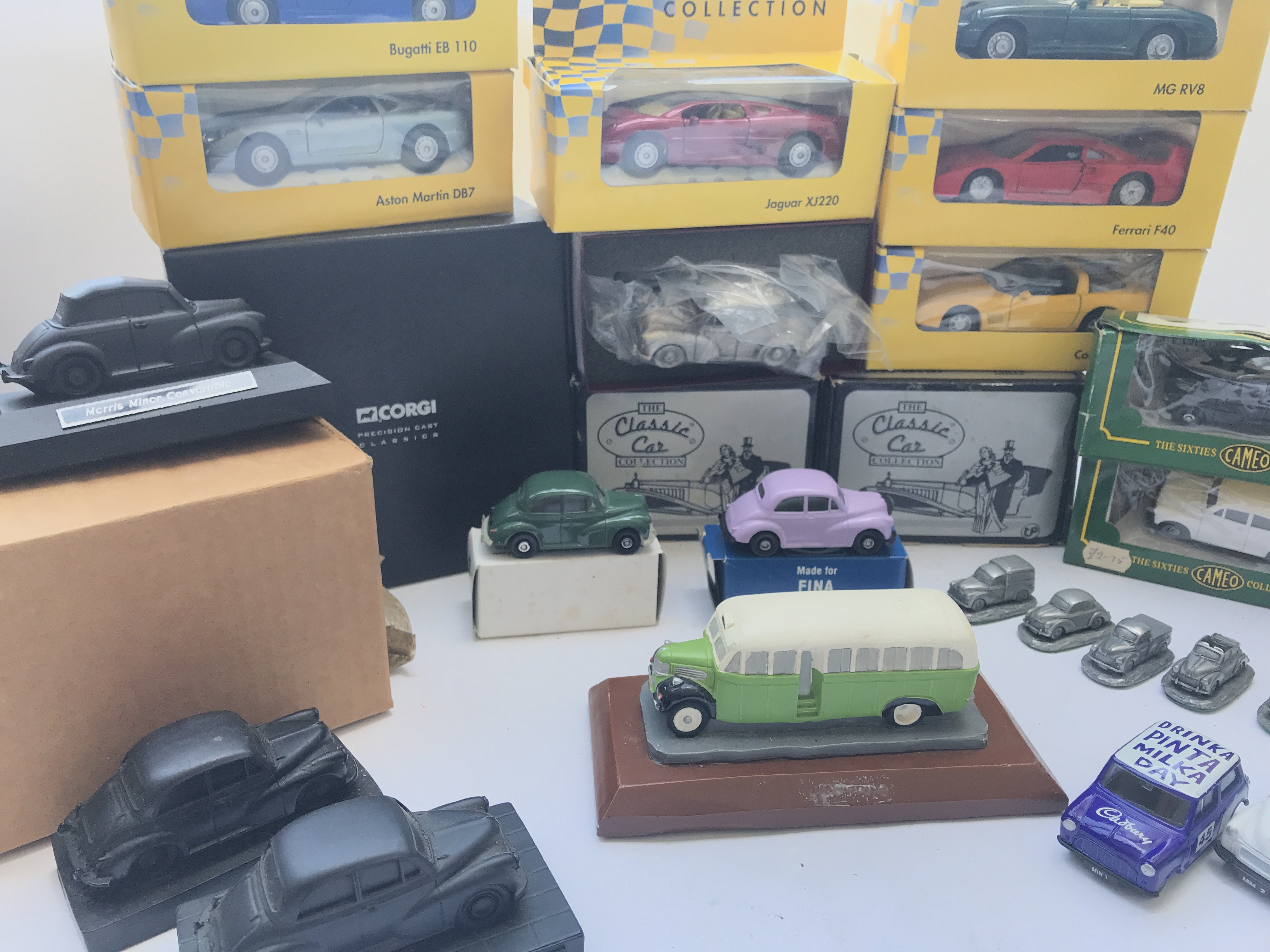 A Box Containing A Collection of Morris Minor Coal - Image 3 of 5