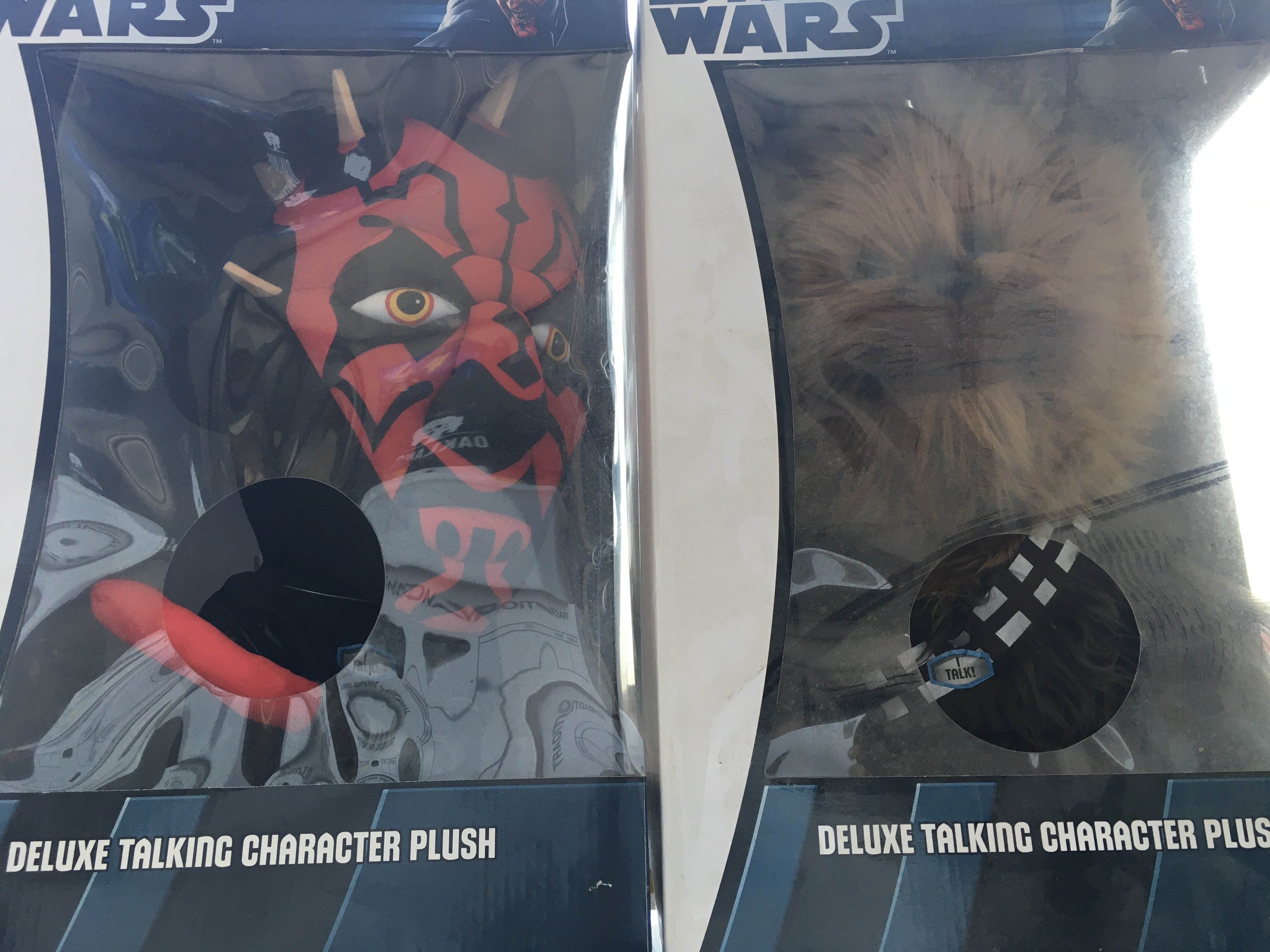 5 X Star Wars Deluxe Talking Character Plush. Incl - Image 3 of 3