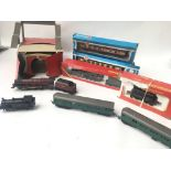 A Box Containing a Collection of Tri-Ang/Hornby/Ai