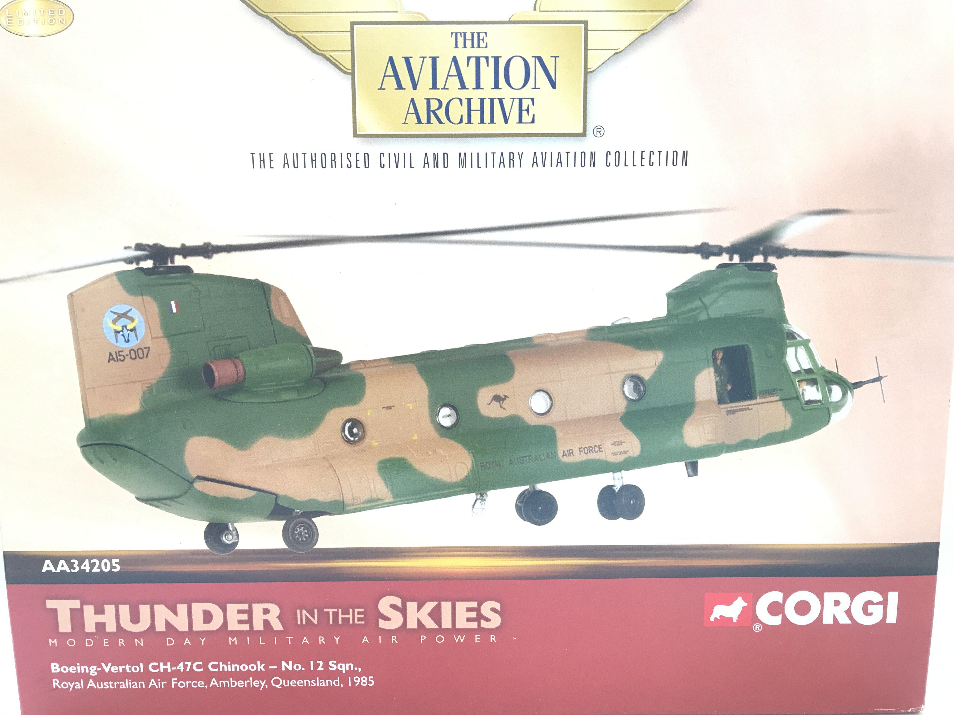 A Boxed Corgi Thunder of the Skies Boeing- Vertol