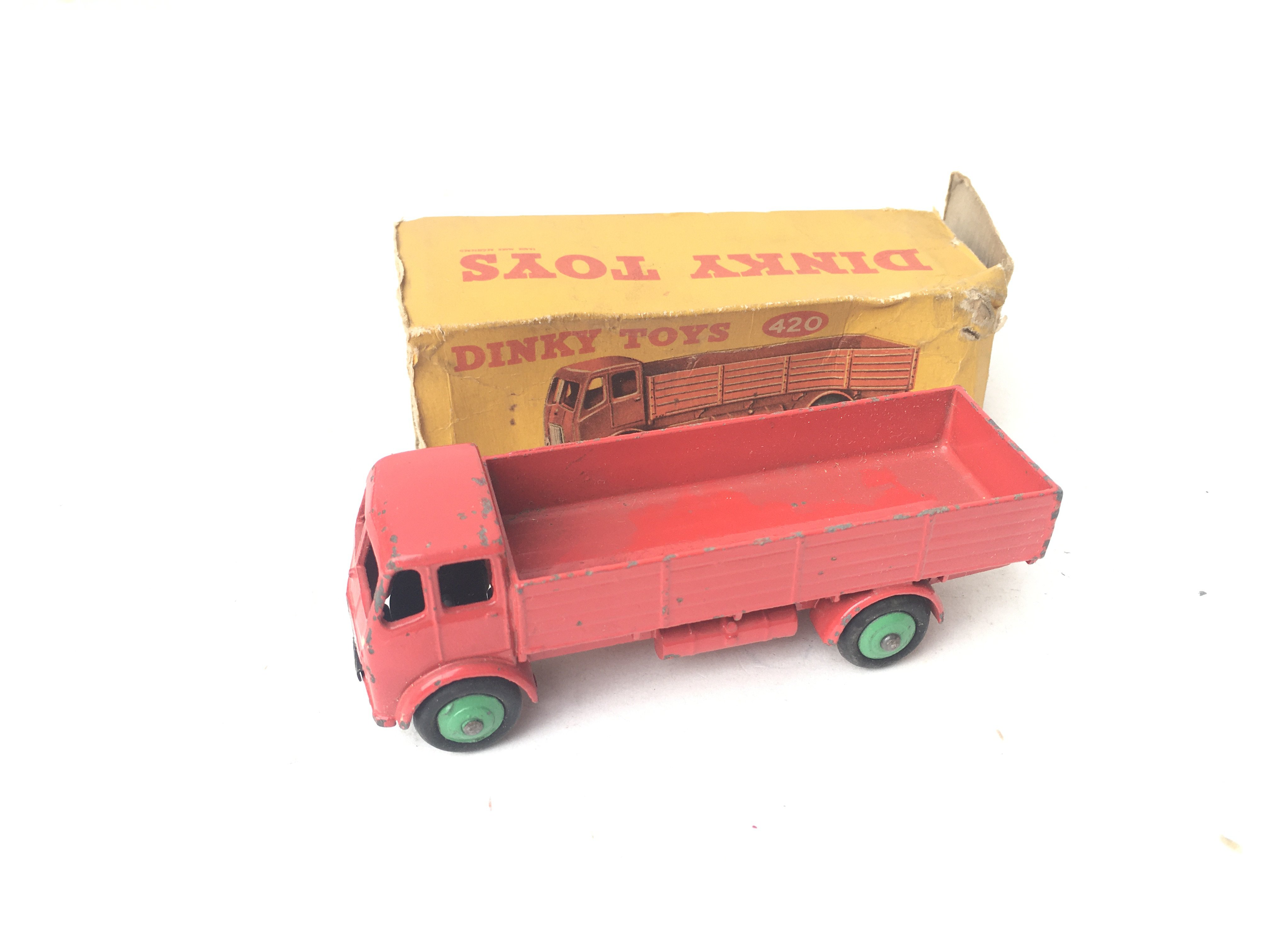 4 X Boxed Dinky Toys including Forward Control Lor - Image 2 of 4